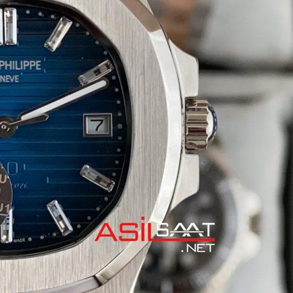 PATEK PHILIPPE Nautilus 40th Year Anniversary Silver Replika Saat PPNA025