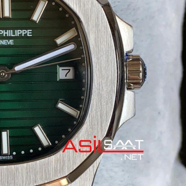 PATEK PHILIPPE Nautilus Silver Replika Saat PPNA005