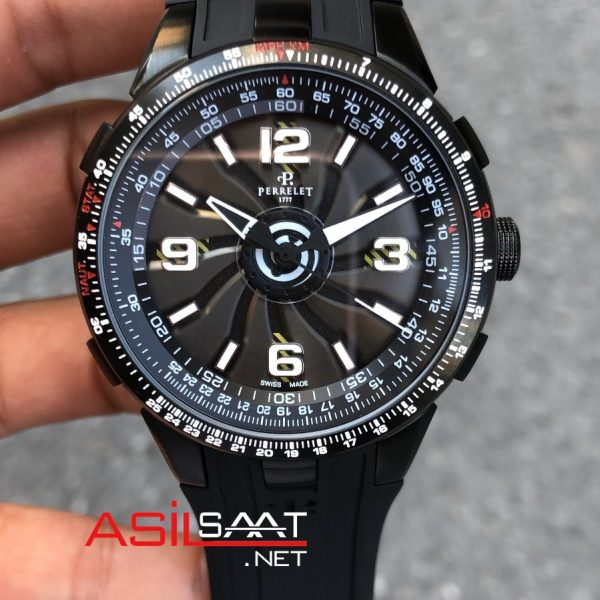 PERRELET Turbine 1777 Black Automatic Replika Saat PER006