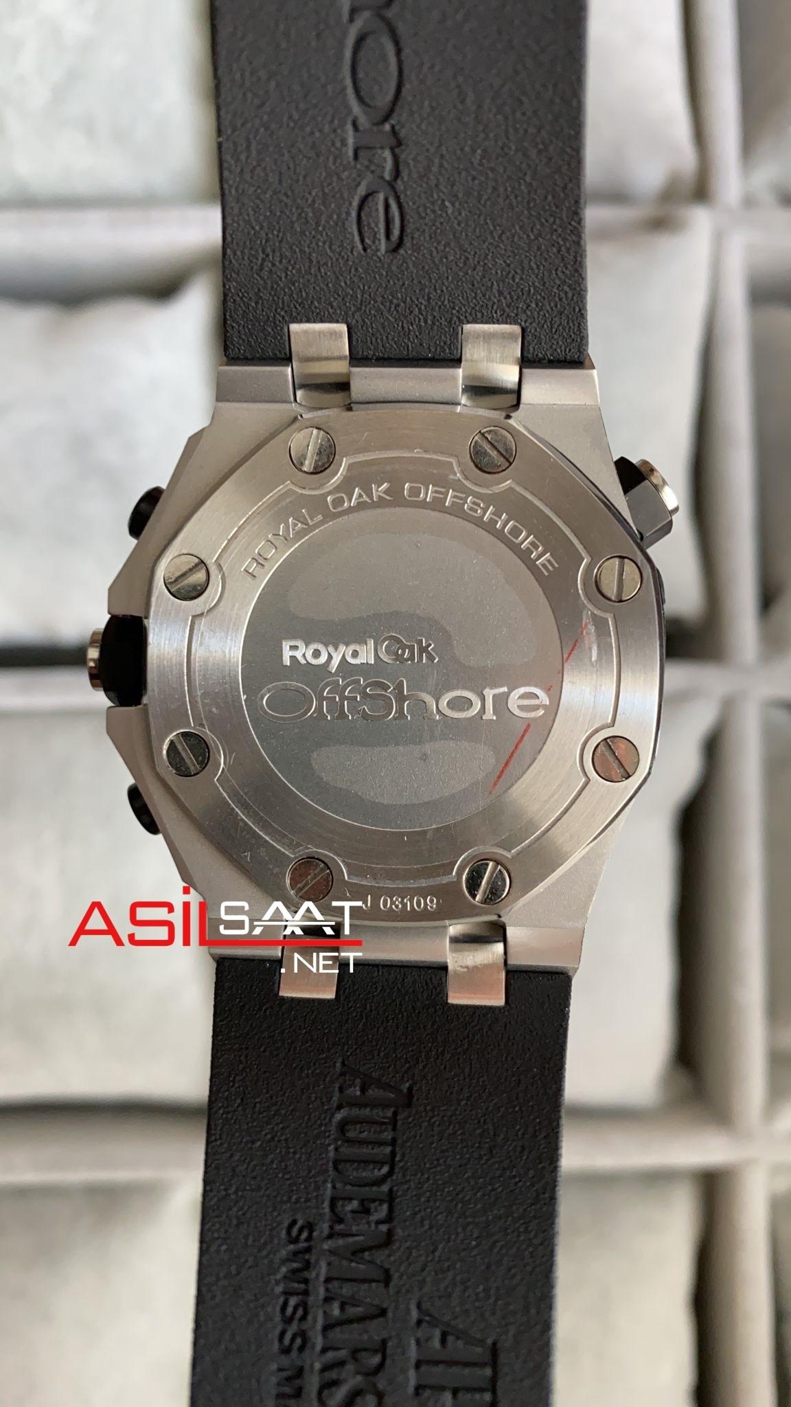 AUDEMARS PIGUET Royal Oak Offshore Silver Replika Saat APOS001