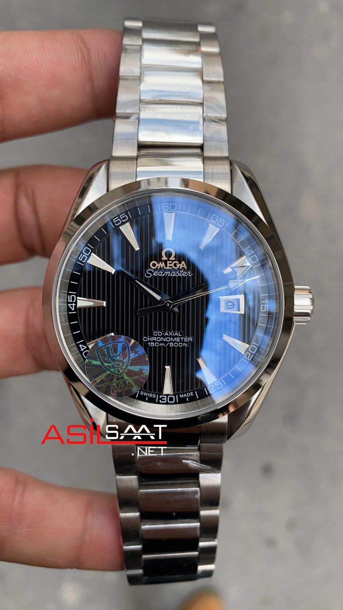 OMEGA Seamaster Aqua Terra Silver Replika Saat OSAT001