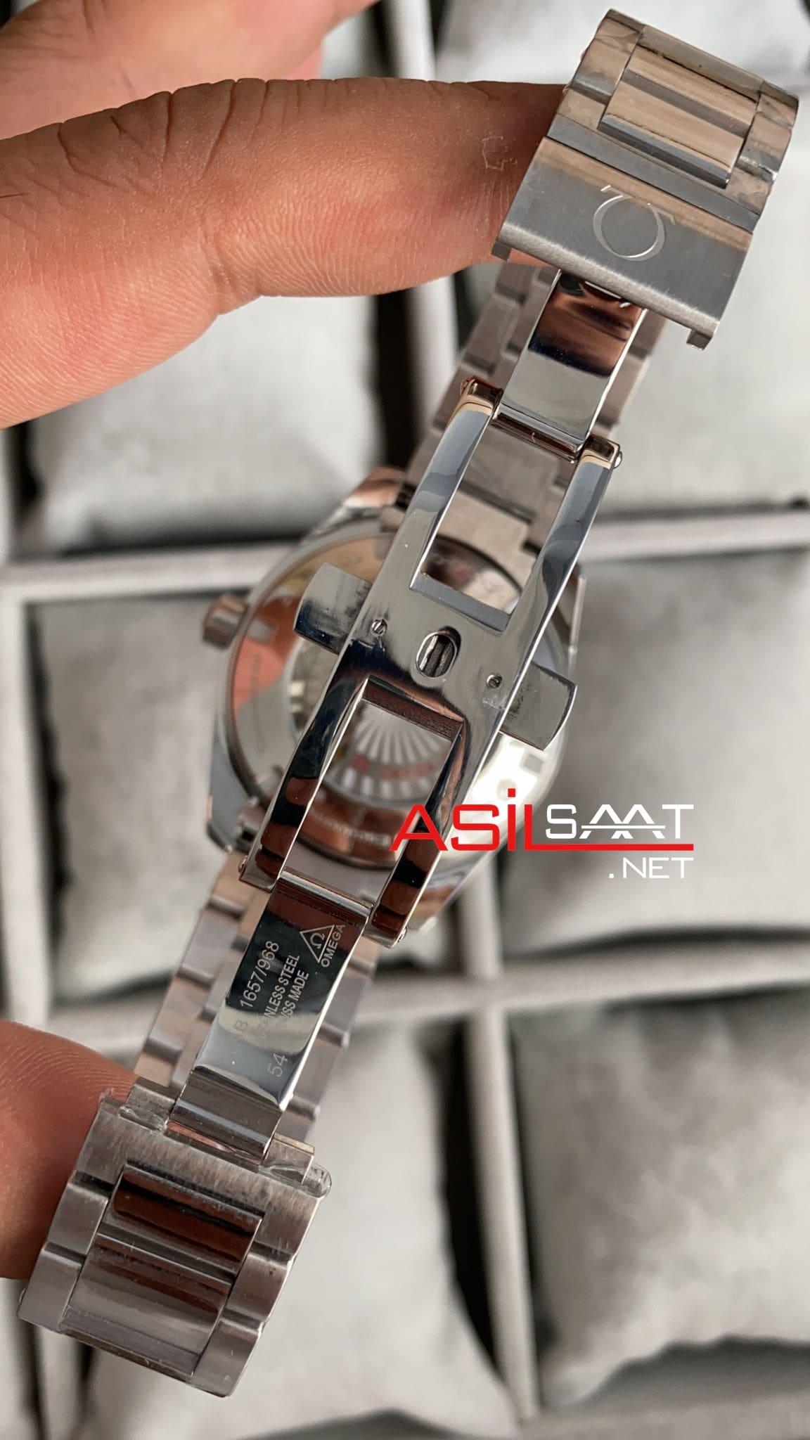 OMEGA Seamaster Aqua Terra Silver Replika Saat OSAT003