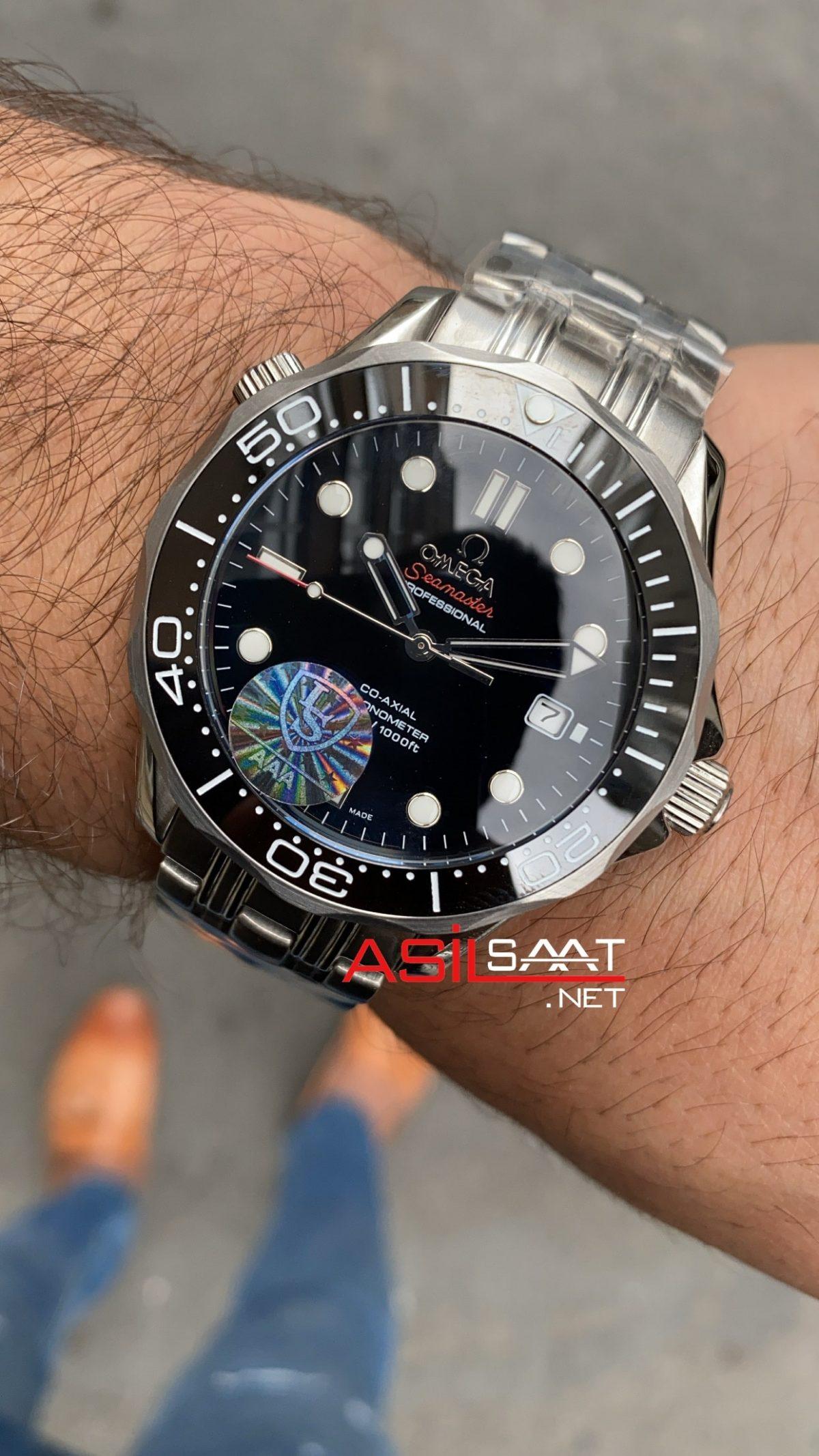 OMEGA Seamaster Diver 300M Silver Replika Saat OSD001