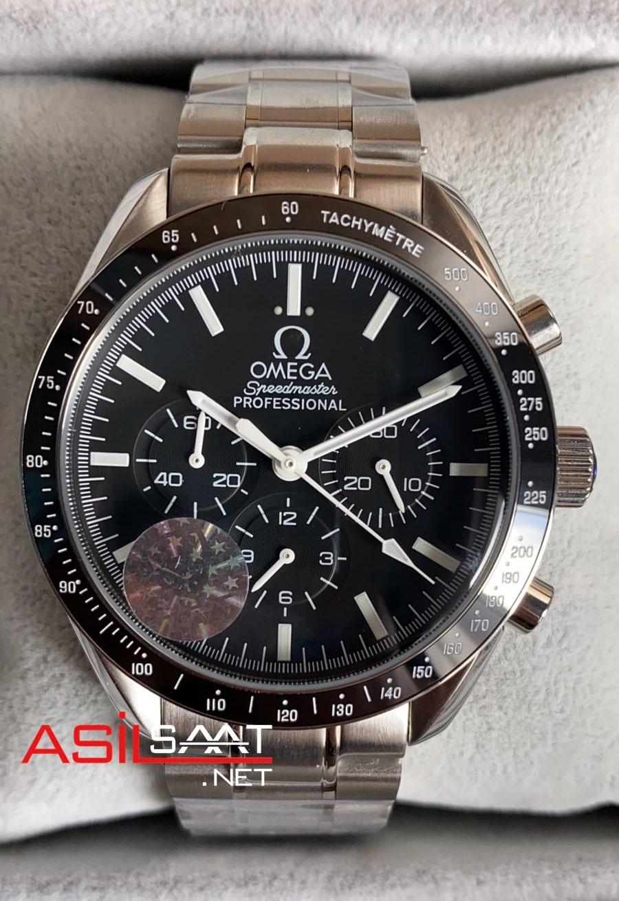 OMEGA Speedmaster Racing Silver Replika Saat OSR001
