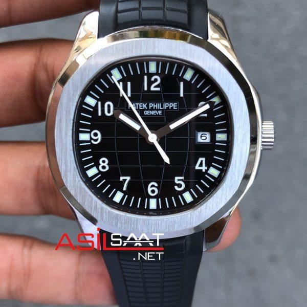 PATEK PHILIPPE Aquanaut Silver Replika Saat PPAQ001
