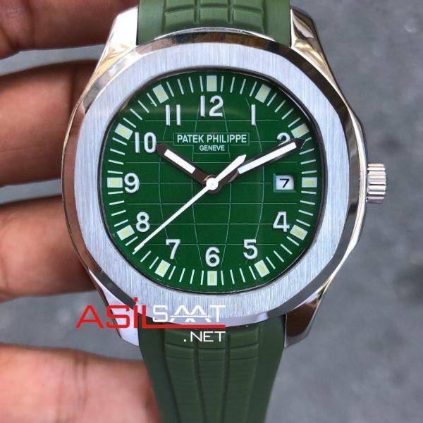 PATEK PHILIPPE Aquanaut Silver Replika Saat PPAQ003