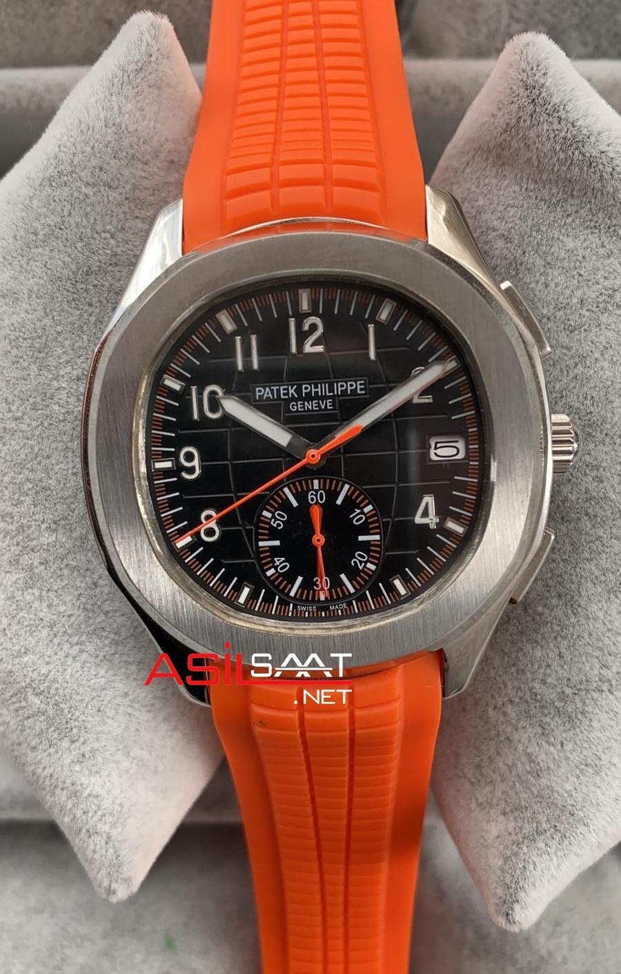 PATEK PHILIPPE Aquanaut Silver Replika Saat PPAQ007