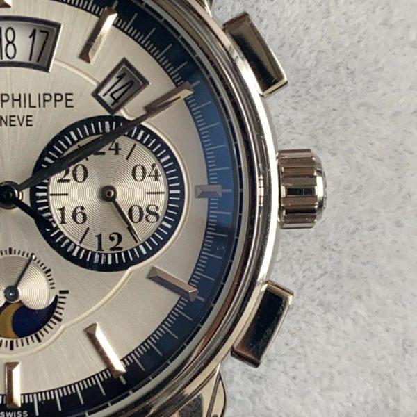 PATEK PHILIPPE Geneve Grand Complications Silver Replika Saat PPIN002