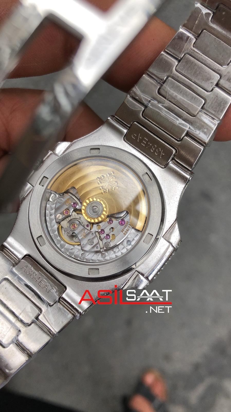 PATEK PHILIPPE Nautilus Diamond Silver Eta Saat EPPNA001