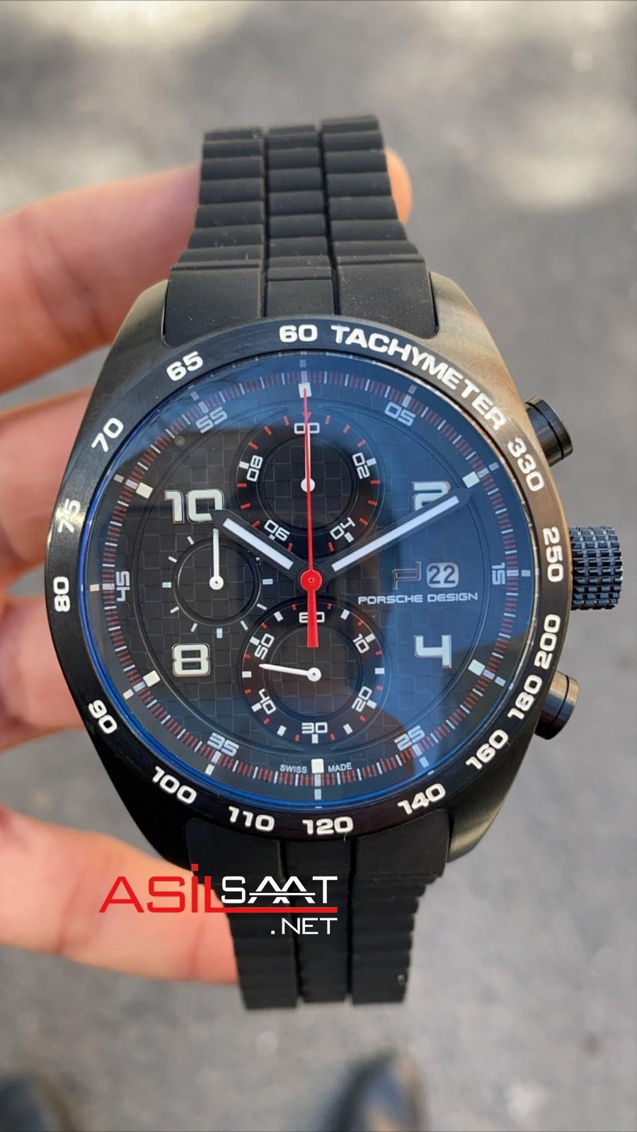 PORSCHE DESIGN P'6620 Black Replika Saat PDAY008