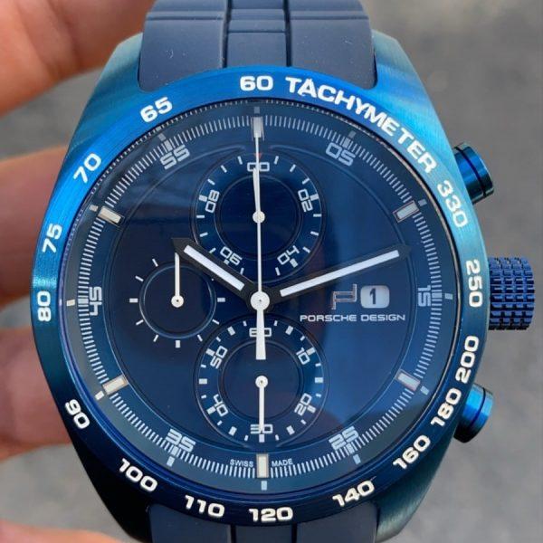 PORSCHE DESIGN P'6620 Blue Silver Replika Saat PDAY007