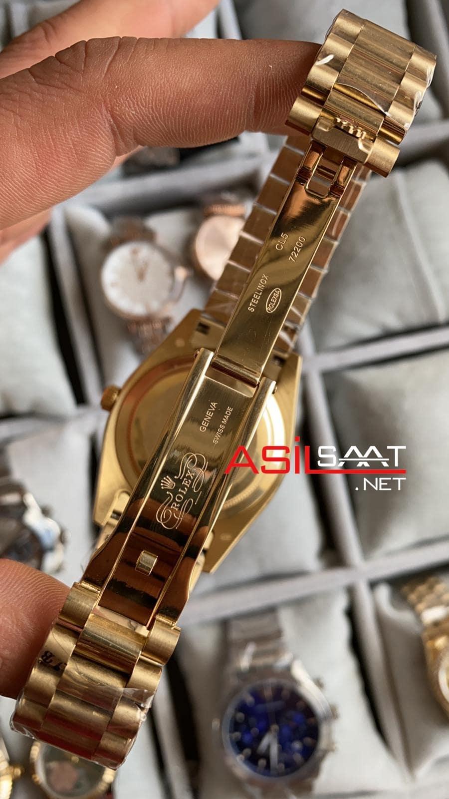 Rolex Day Date Gold Replika Saat ROLDD062