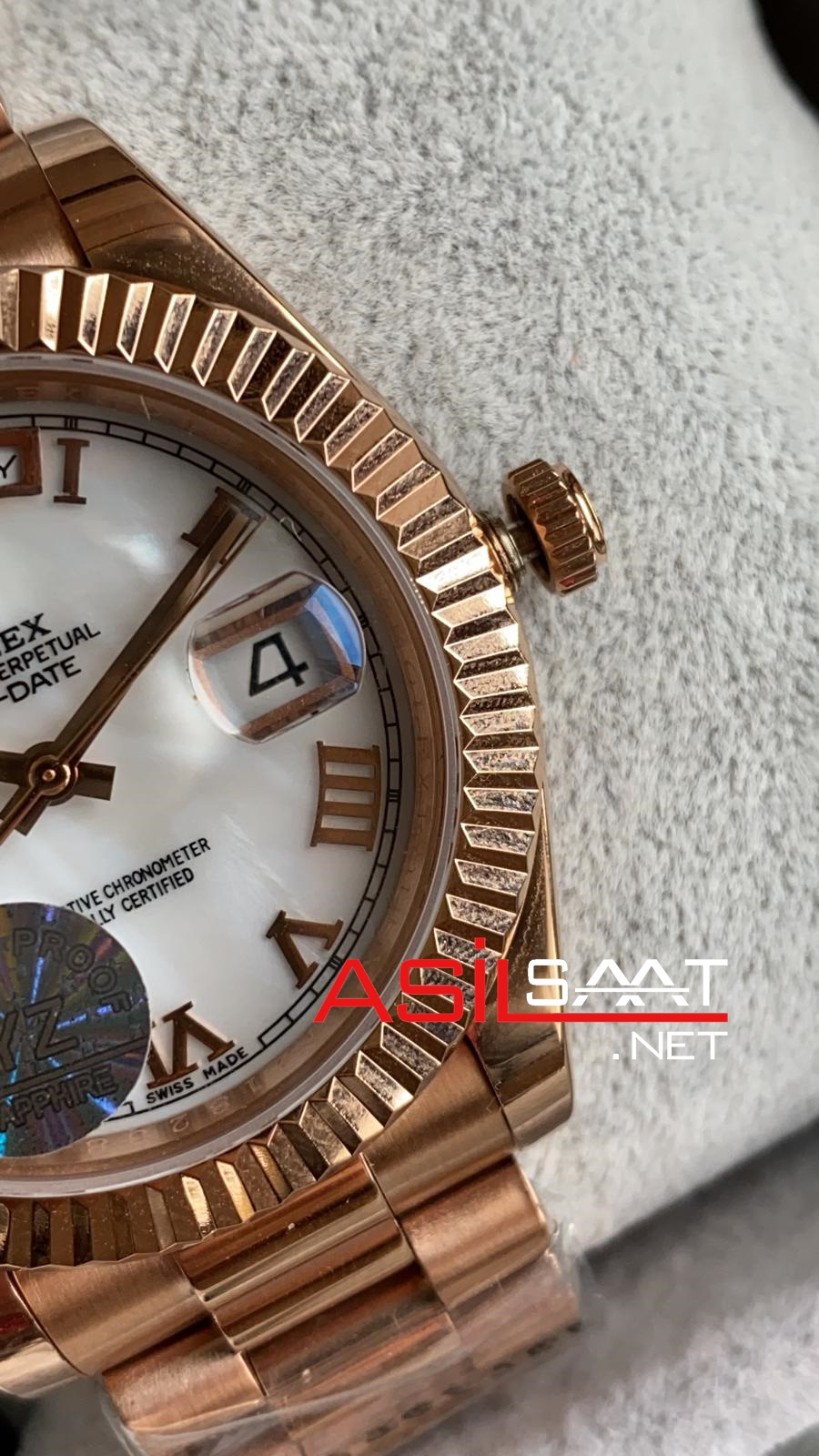 Rolex Day-Date Rosegold Replika Saat ROLDD050
