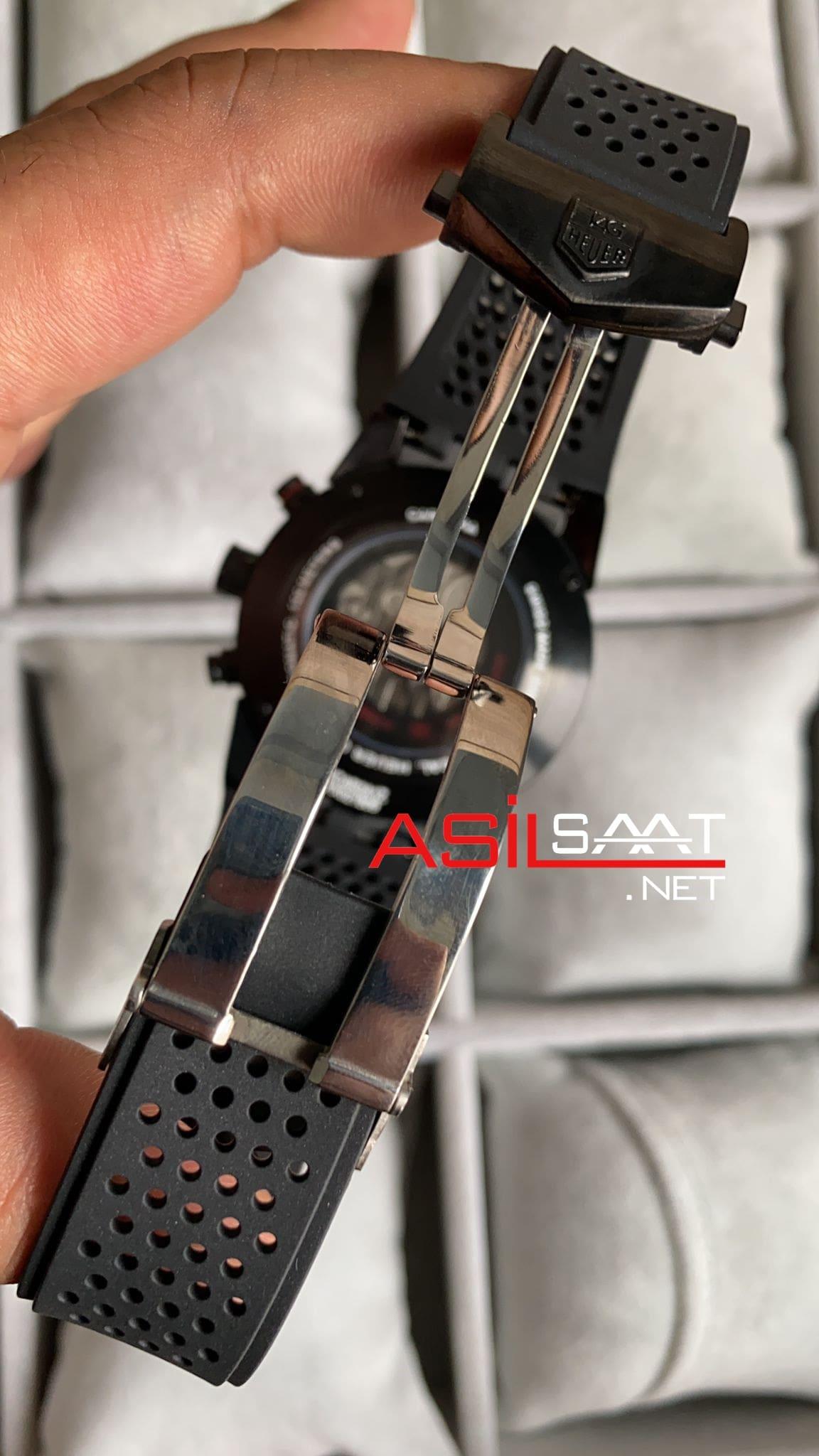 TAG Heuer Carrera Heuer 01 Black Replika Saat TAGCH007