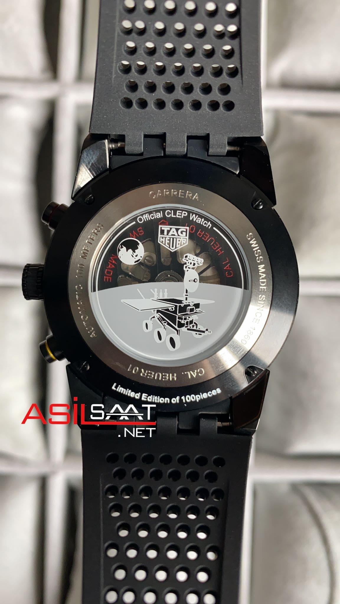 TAG Heuer Carrera Heuer 01 Black Replika Saat TAGCH013