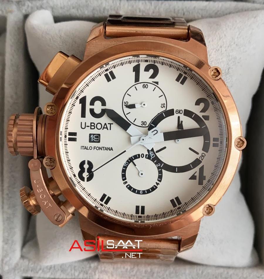U-BOAT İtalo Fontana Rosegold Replika Saat UBF004