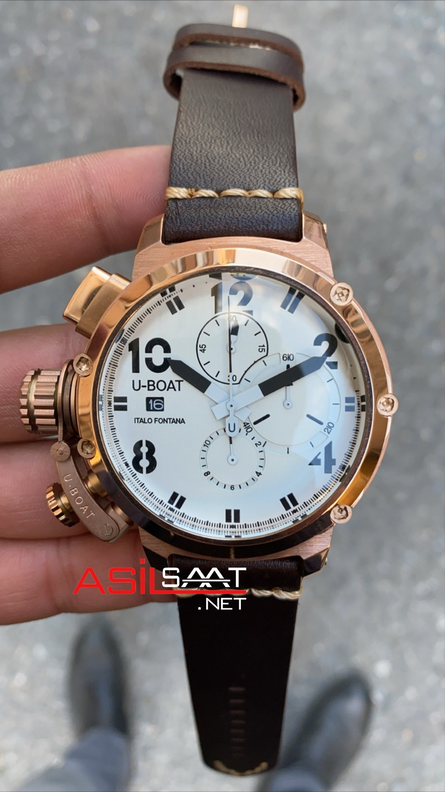 U-BOAT İtalo Fontana Rosegold Replika Saat UBF011