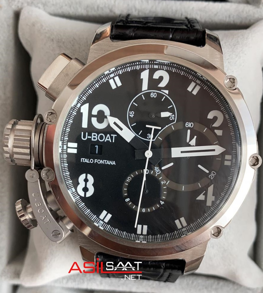 U-BOAT İtalo Fontana Silver Replika Saat UBF006