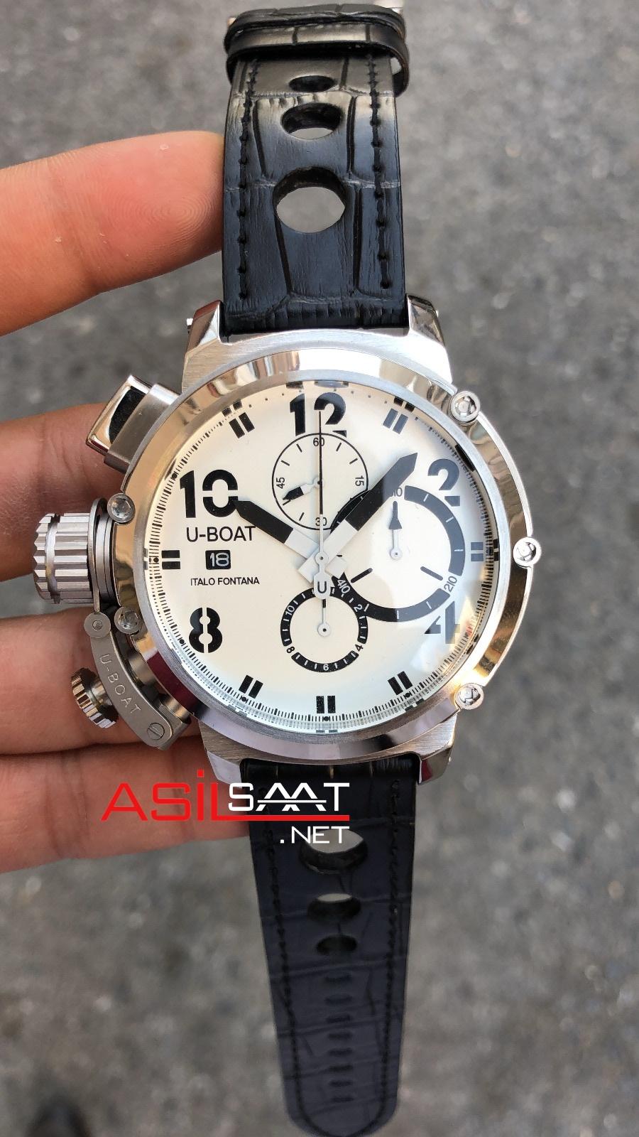 U-BOAT İtalo Fontana Silver Replika Saat UBF007