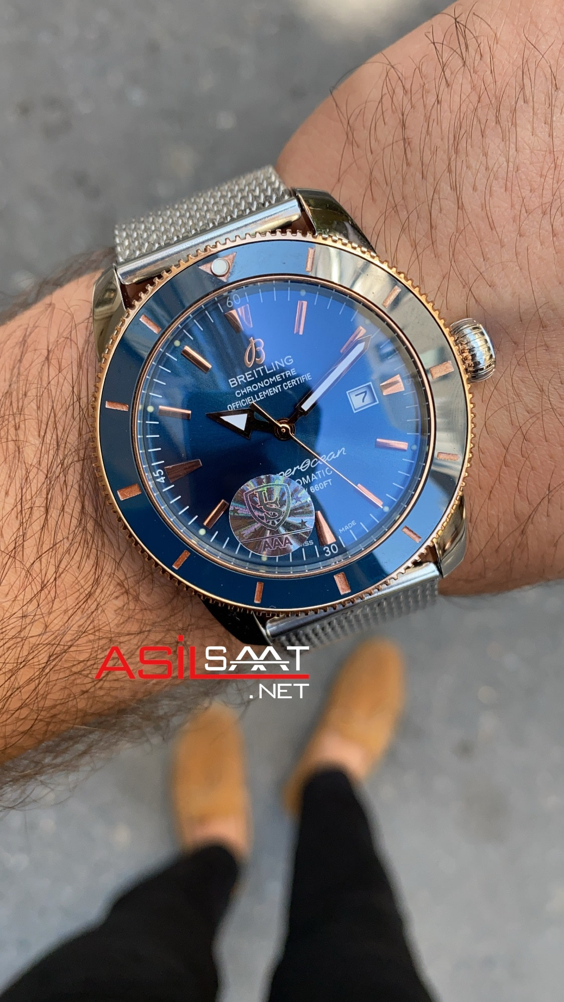 Breitling Superocean Heritage BS015
