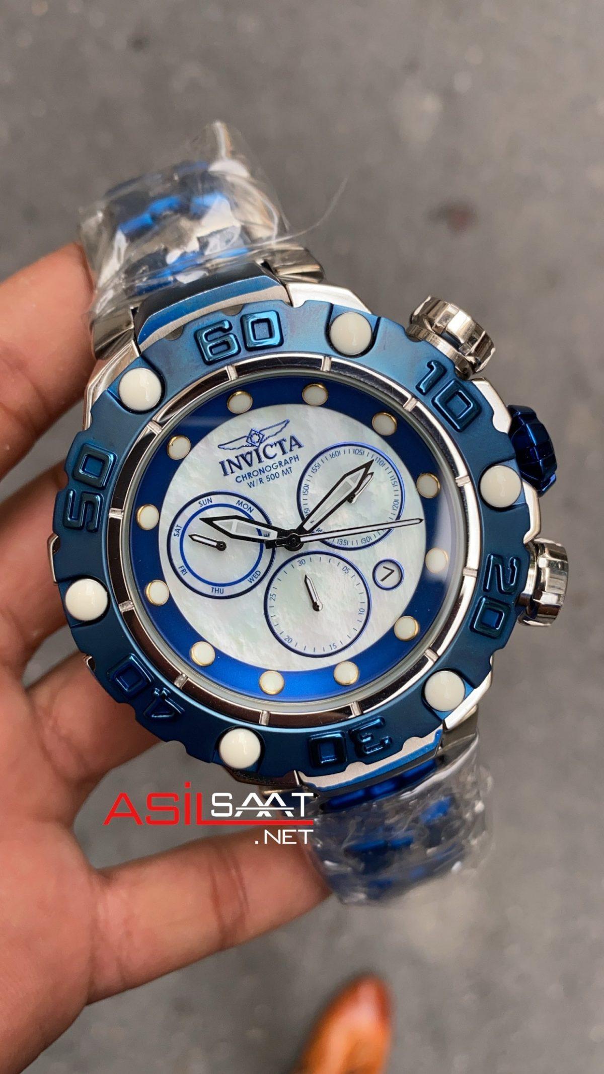 Invicta Excursion Silver Blue IEX003