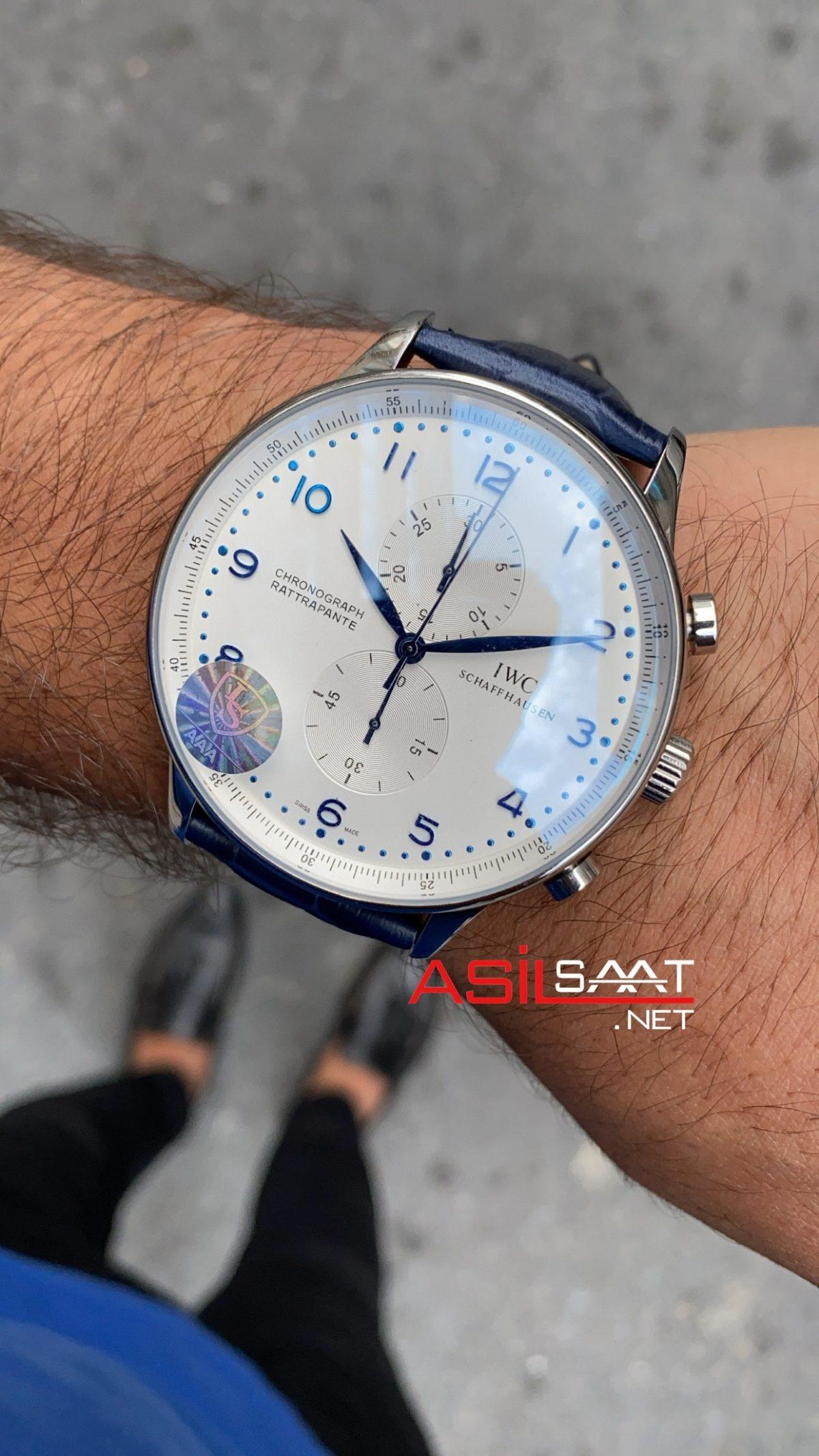 Iwc Rattrapante Blue IRT004