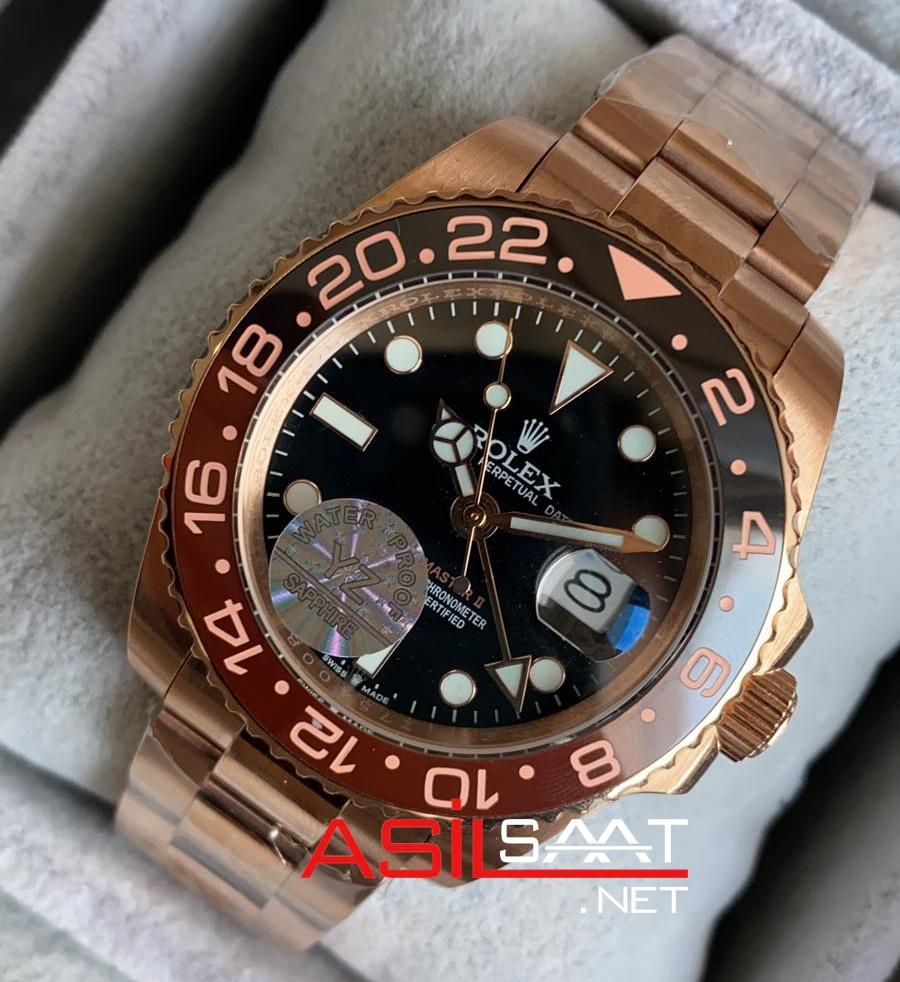 Rolex Gmt Master II Chocolate Everose ROLG017