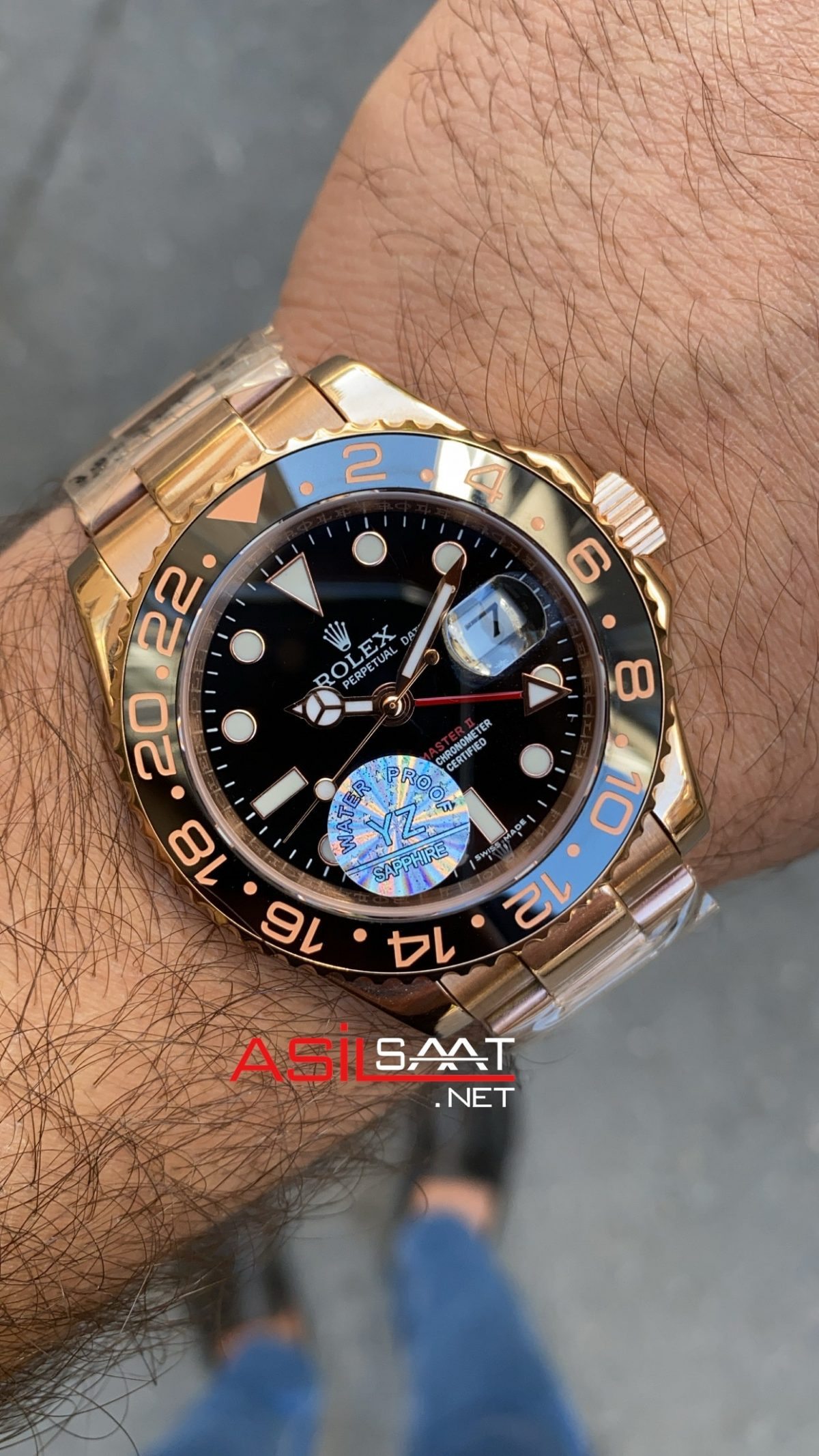 Rolex Gmt Master II Everose ROLG005