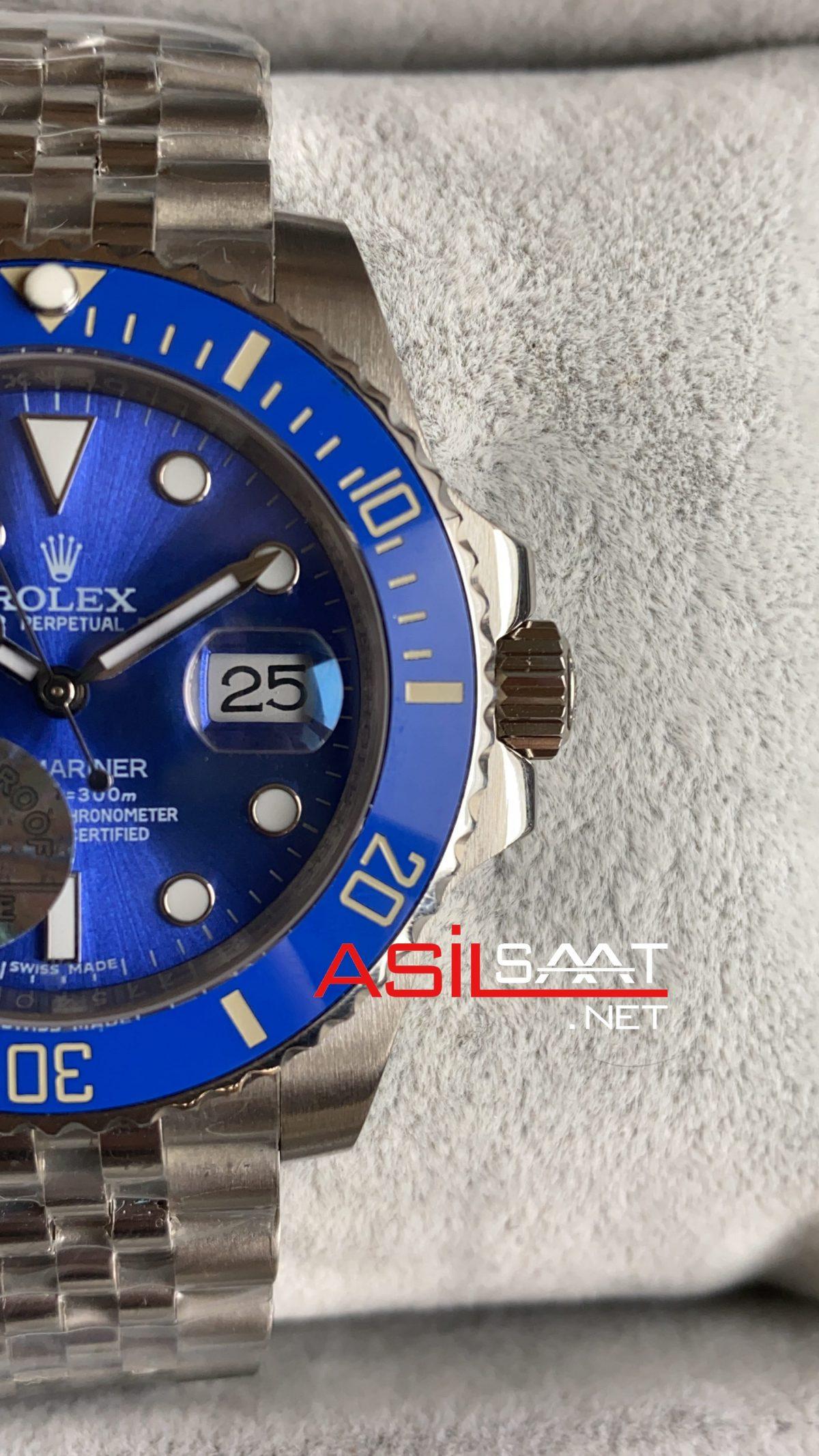 Rolex Jubilee Submariner Smurf 116619 LB ROLS018