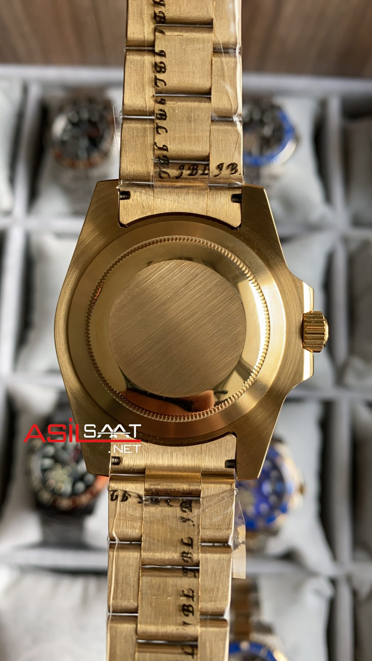 Rolex Submariner Gold 116618 LB ROLS012