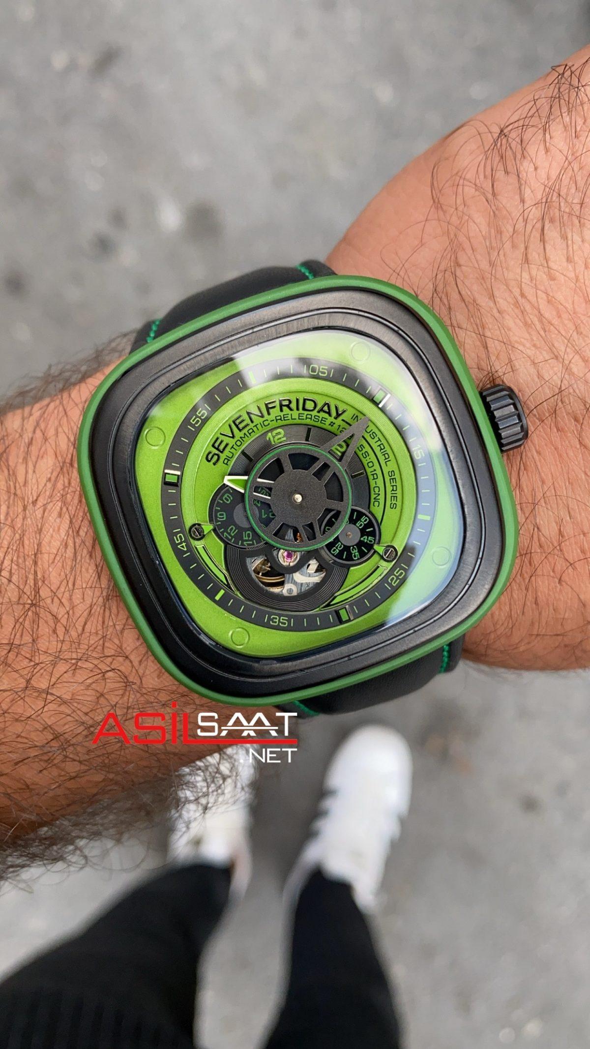 Sevenfriday P3/01 Green SFP008