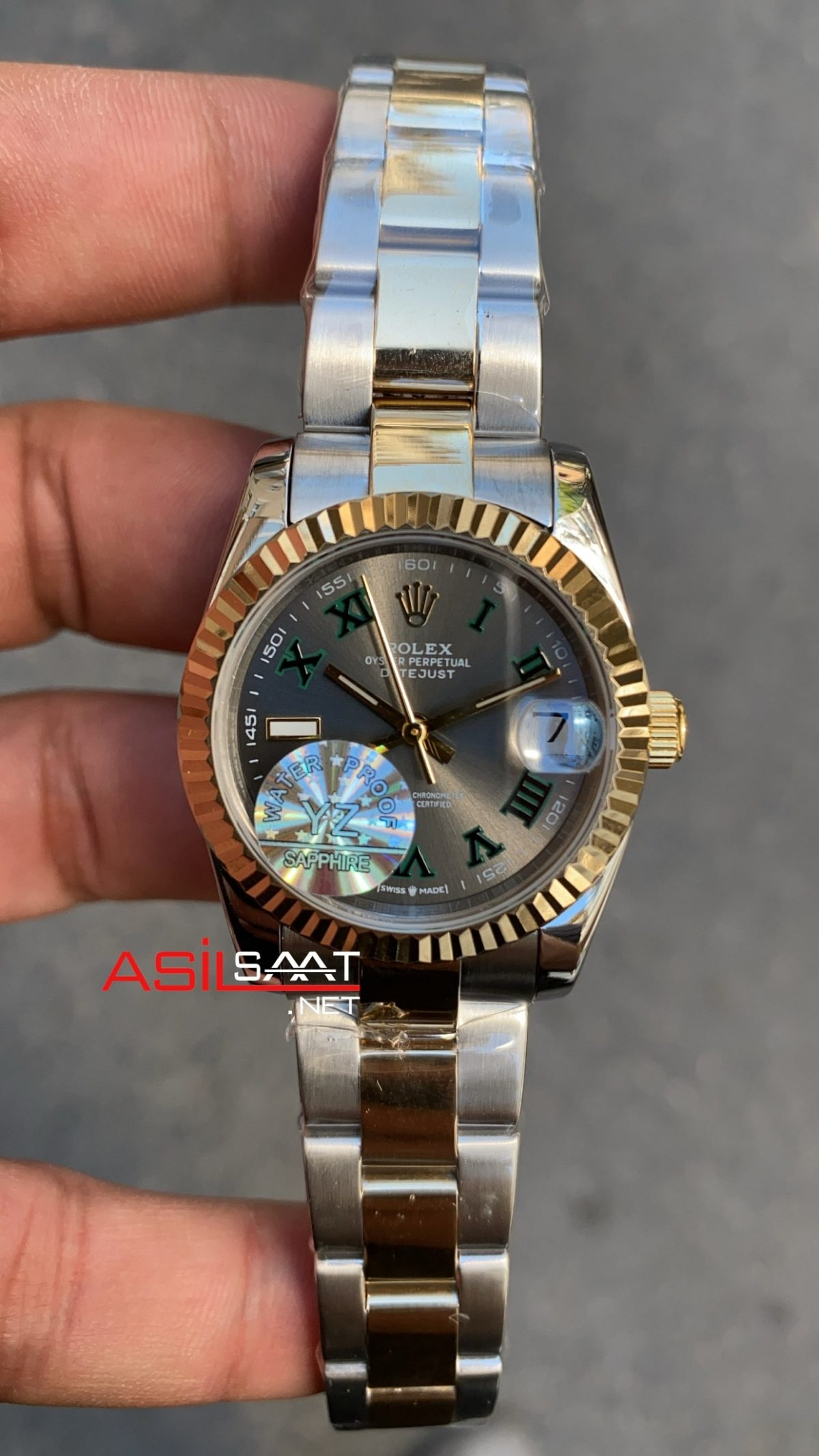 Rolex Bayan Datejust Wimbledon 31 mm RBA054