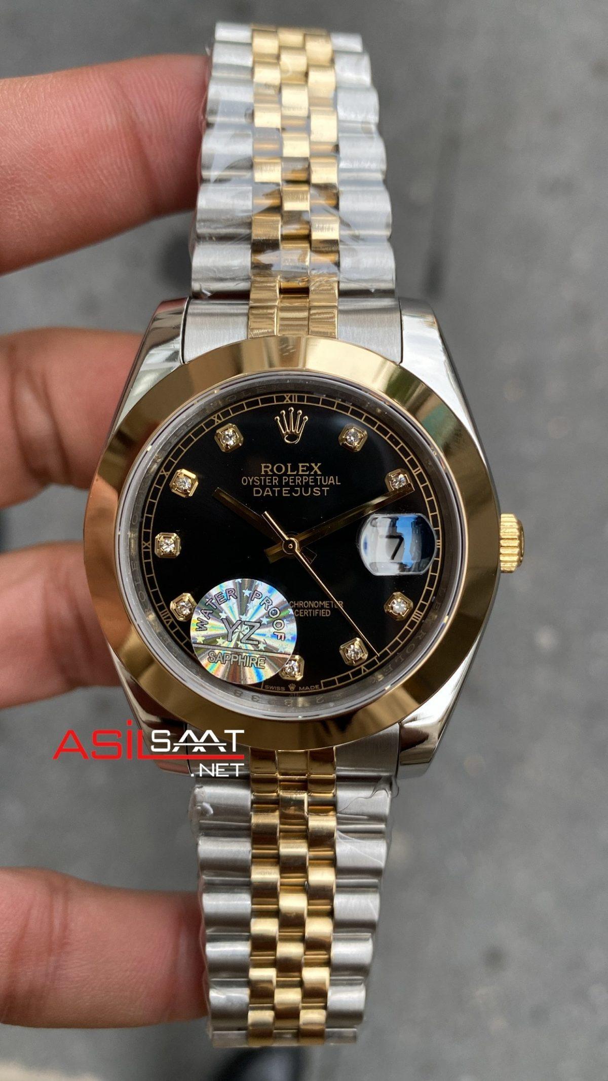 Rolex Datejust 126303 Black Diamond Dial ROLDJ035