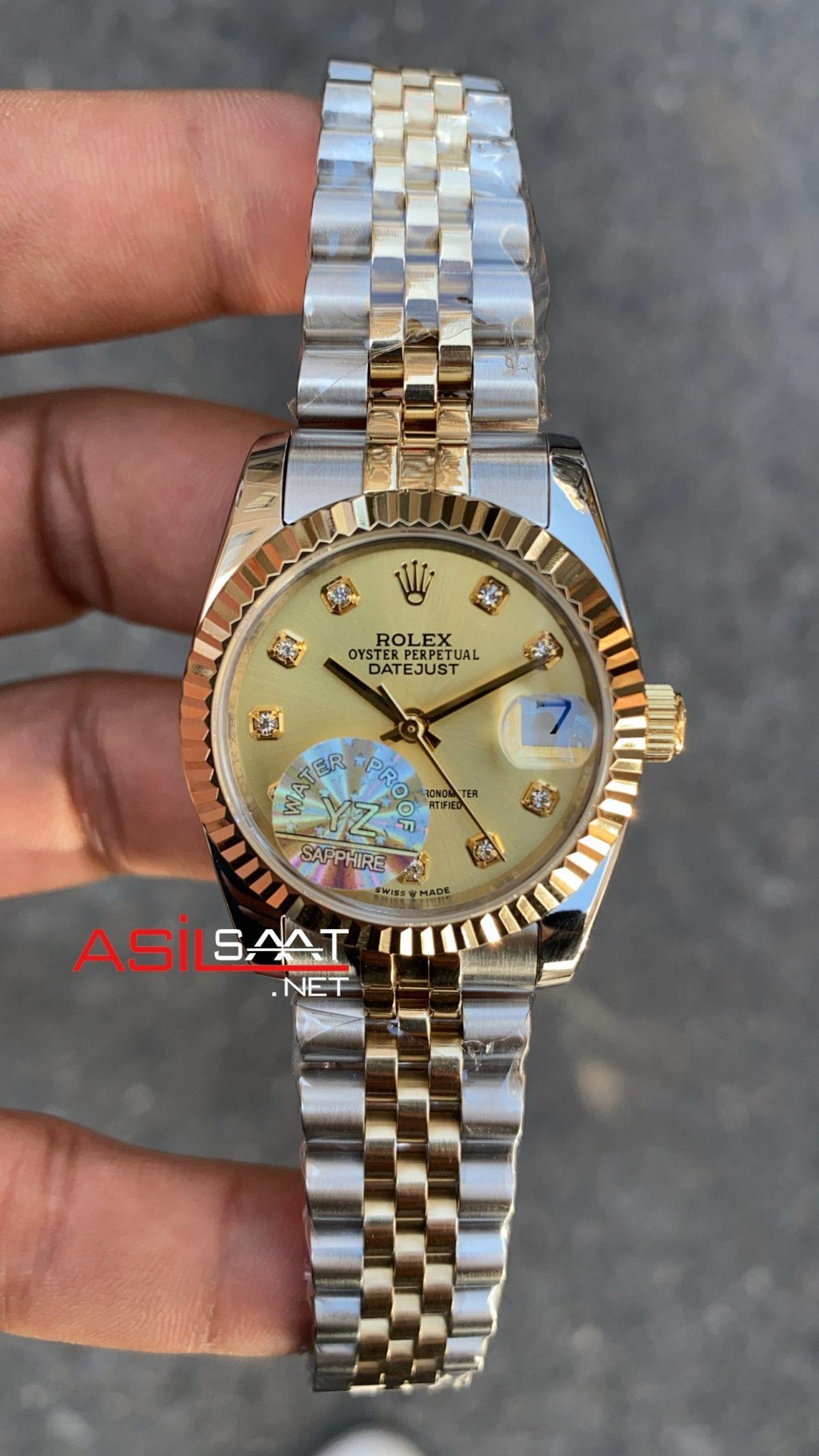 Rolex Datejust Champange Bayan 31 mm 178271 RBA060