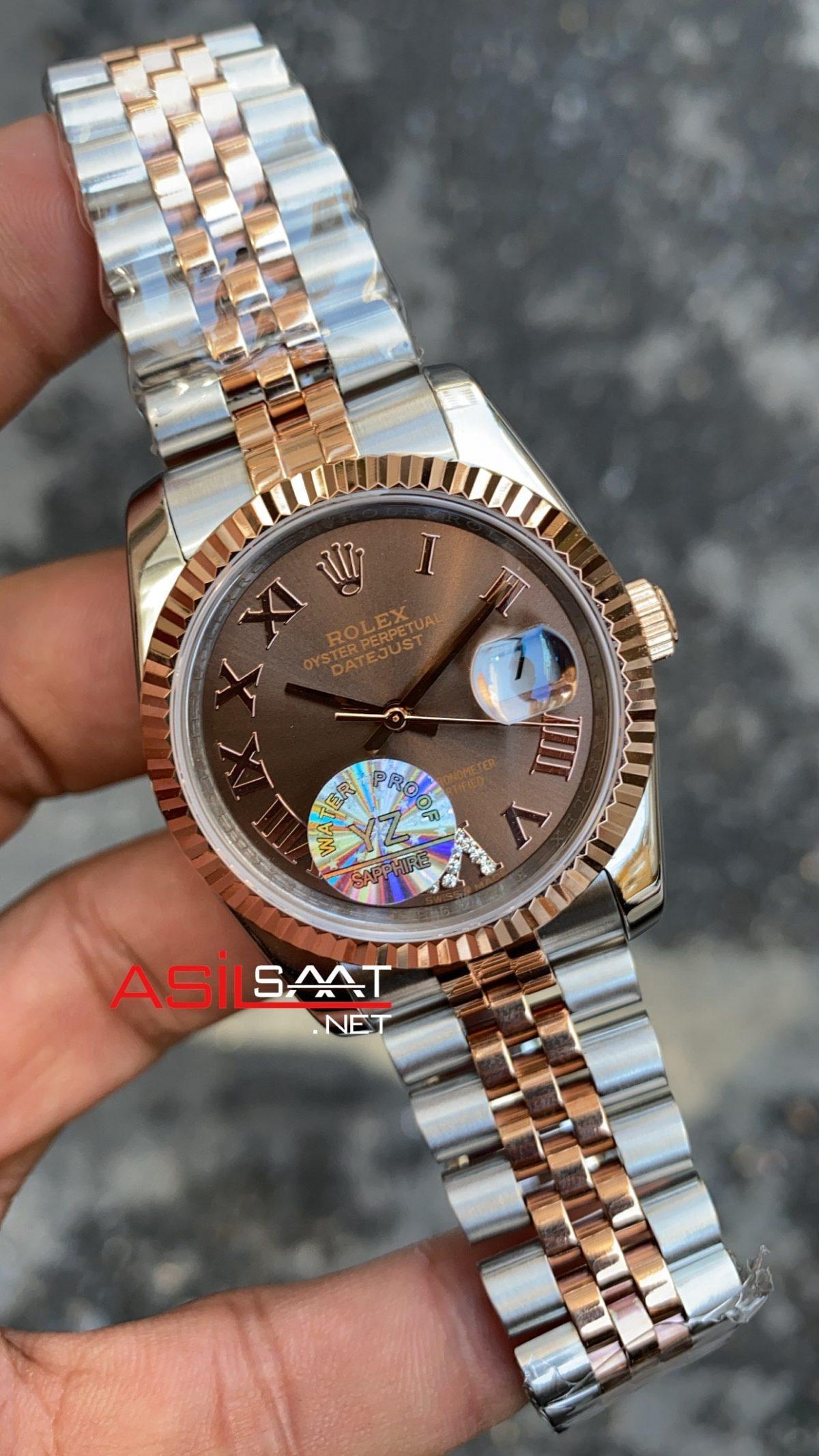 Rolex Datejust Chocolate Bayan 36 mm 126231 RBA064