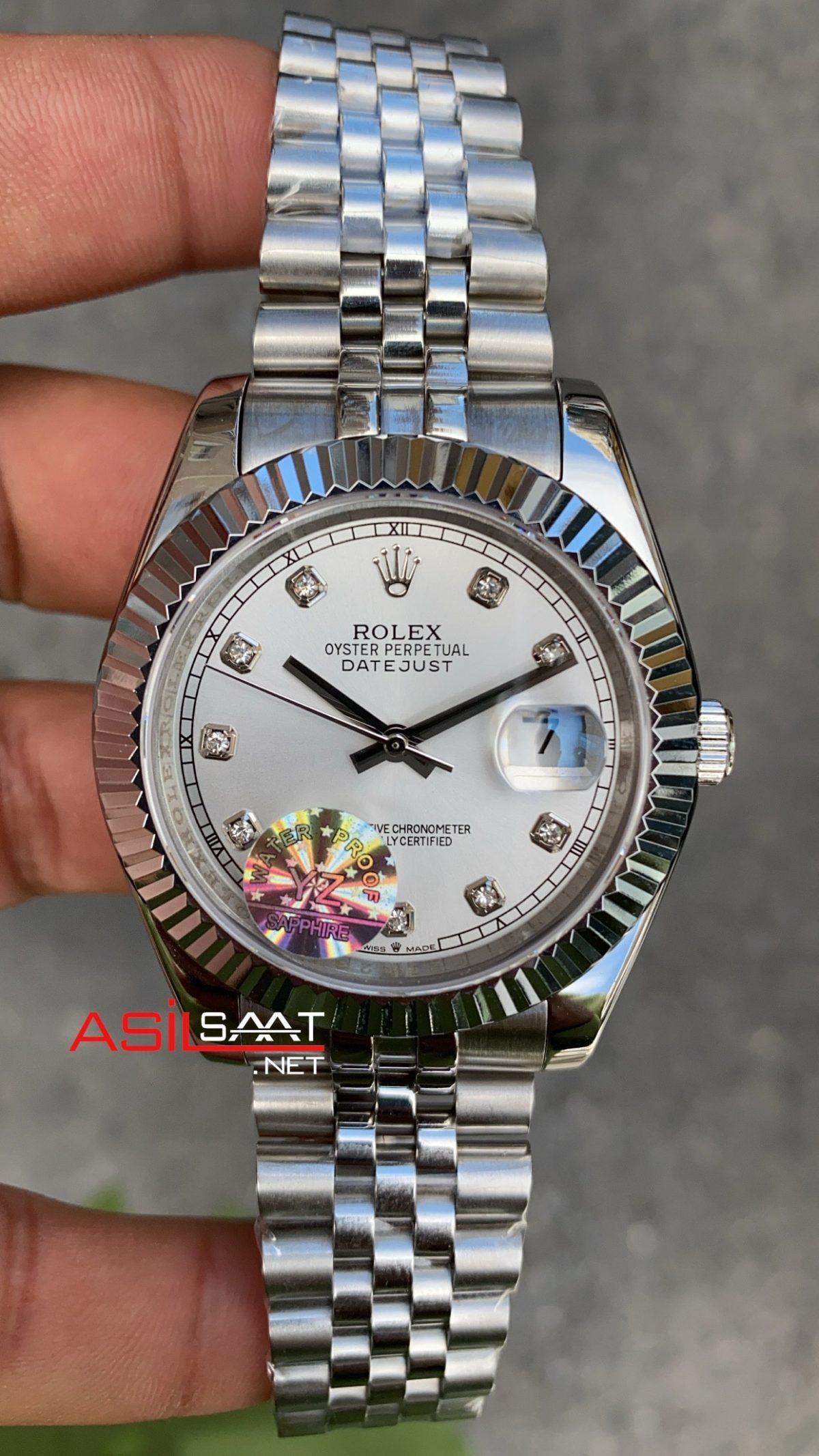 Rolex Datejust Dial Diamond White 126334 ROLDJ009