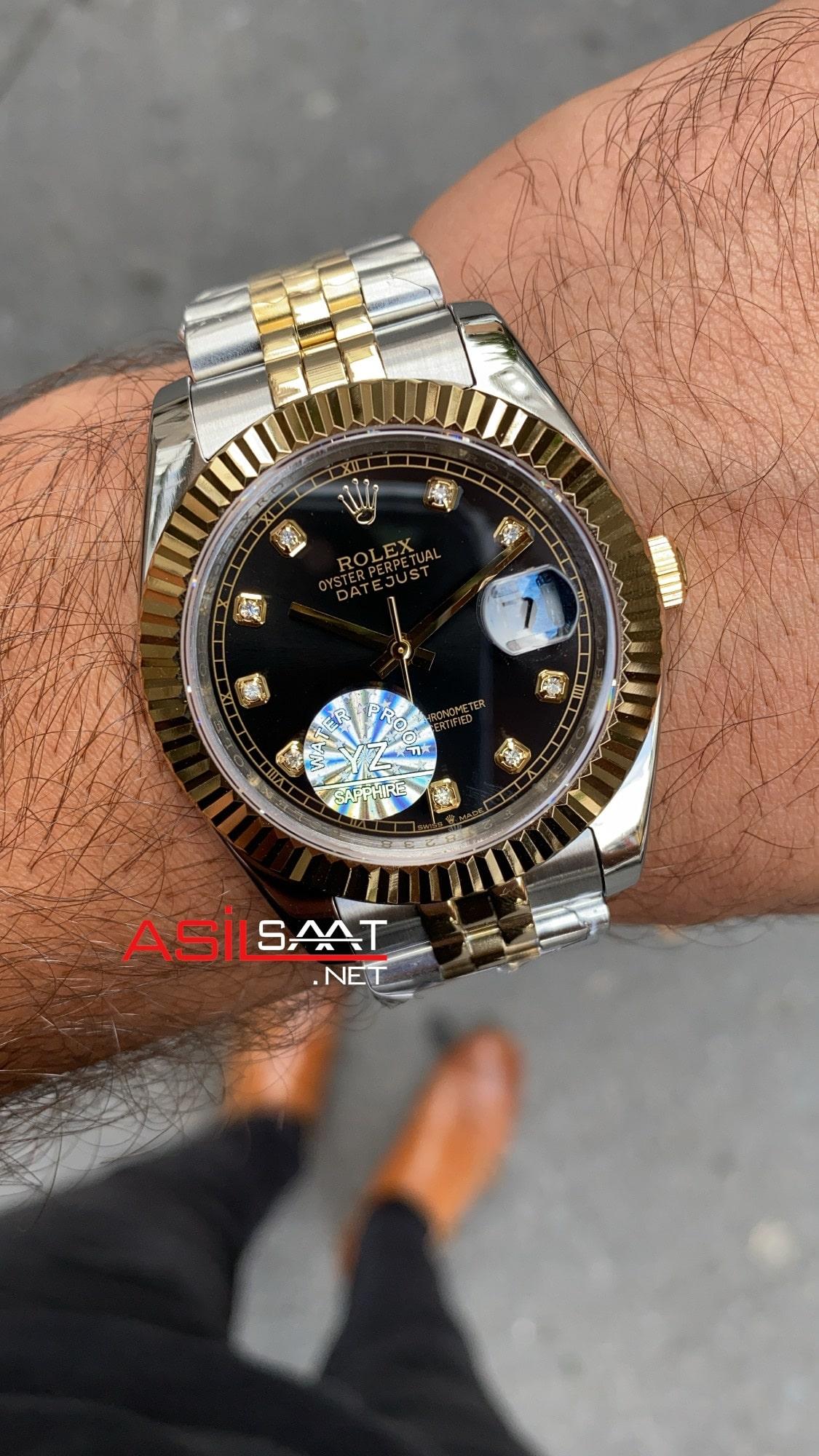 Rolex Datejust Jubilee 126333 Black Diamond Dial ROLDJ022