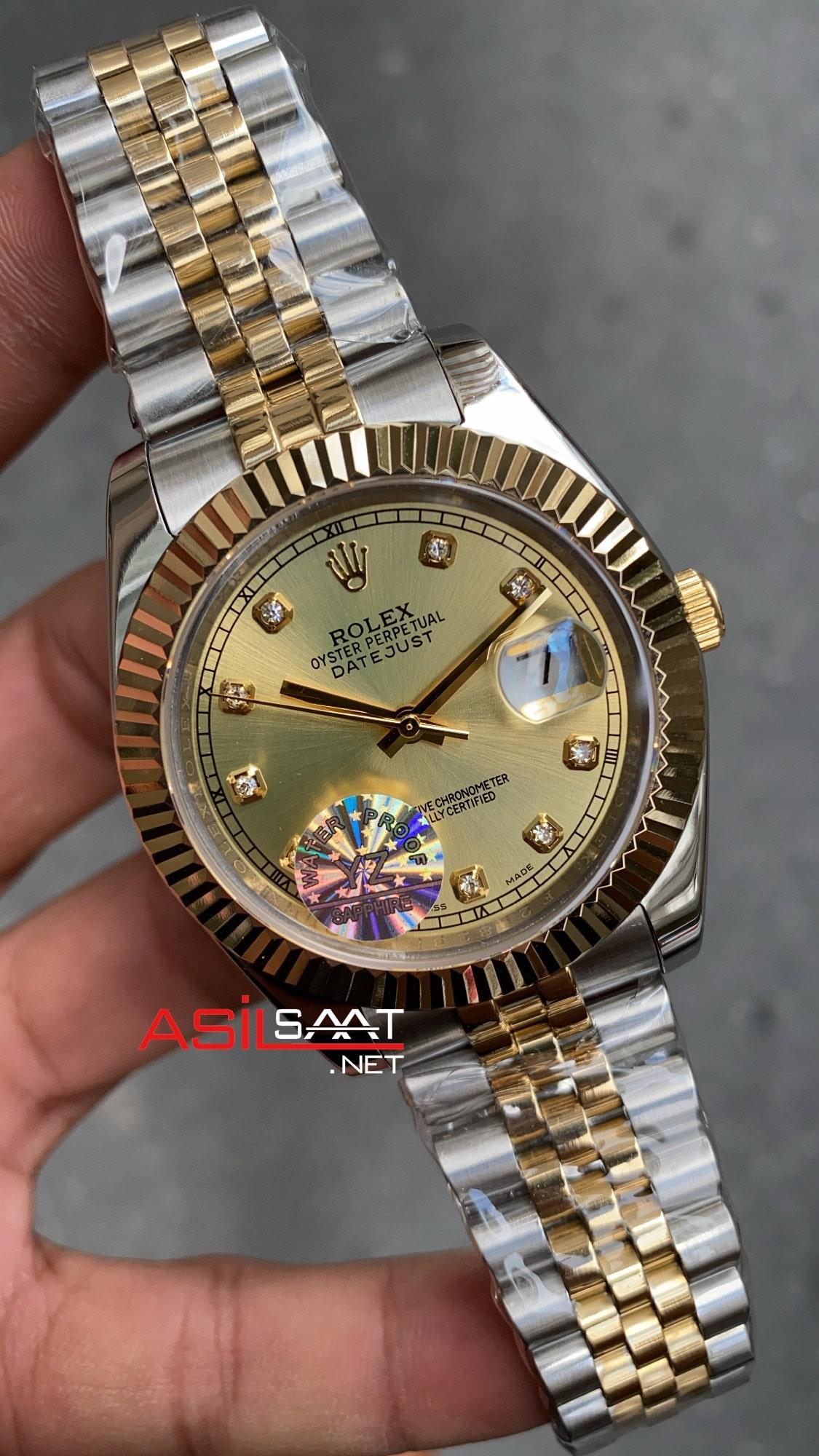 Rolex Datejust Jubilee 126333 Champagne Diamond Dial ROLDJ023