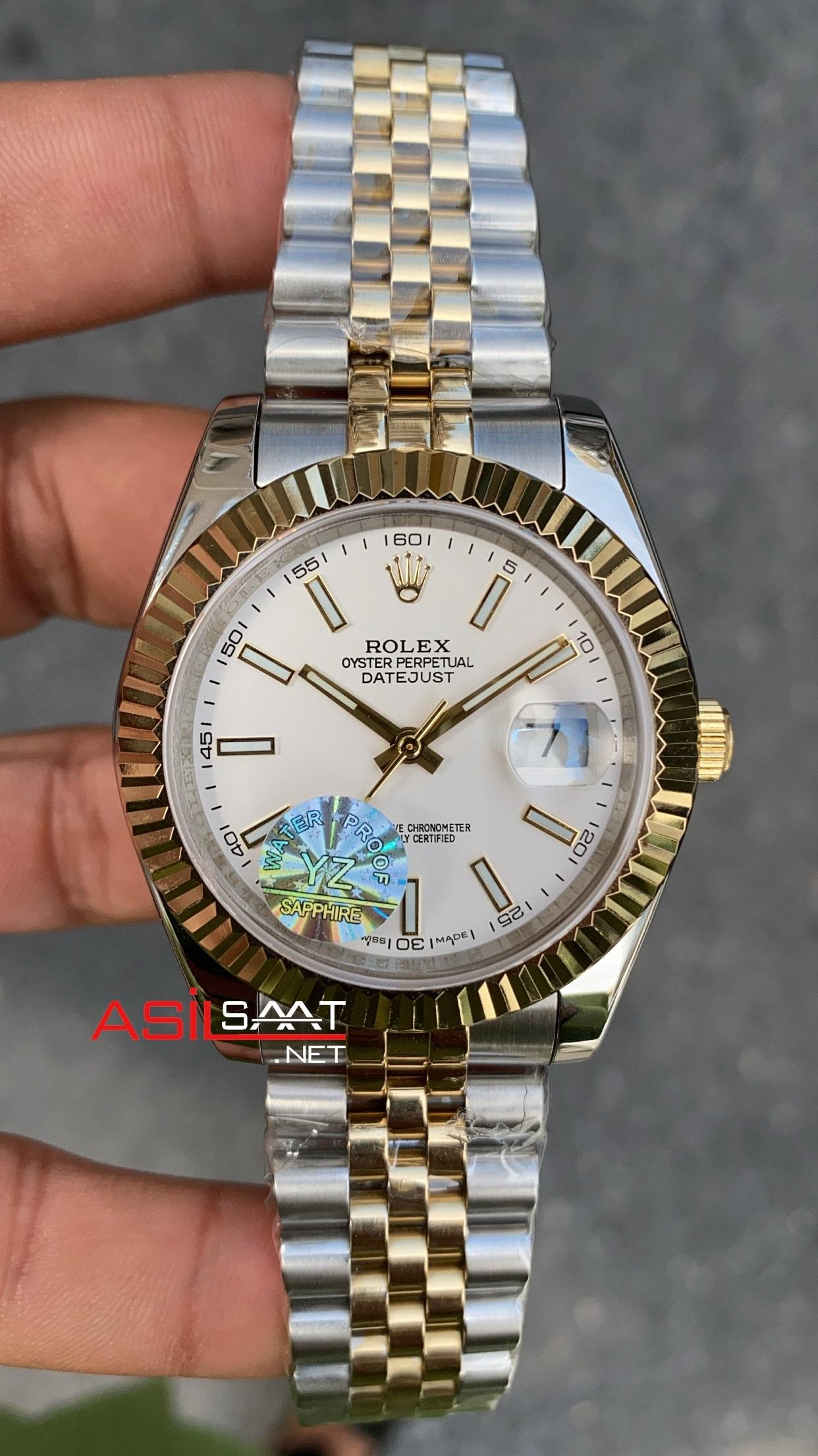 Rolex Datejust Jubilee 126333 White Dial ROLDJ016