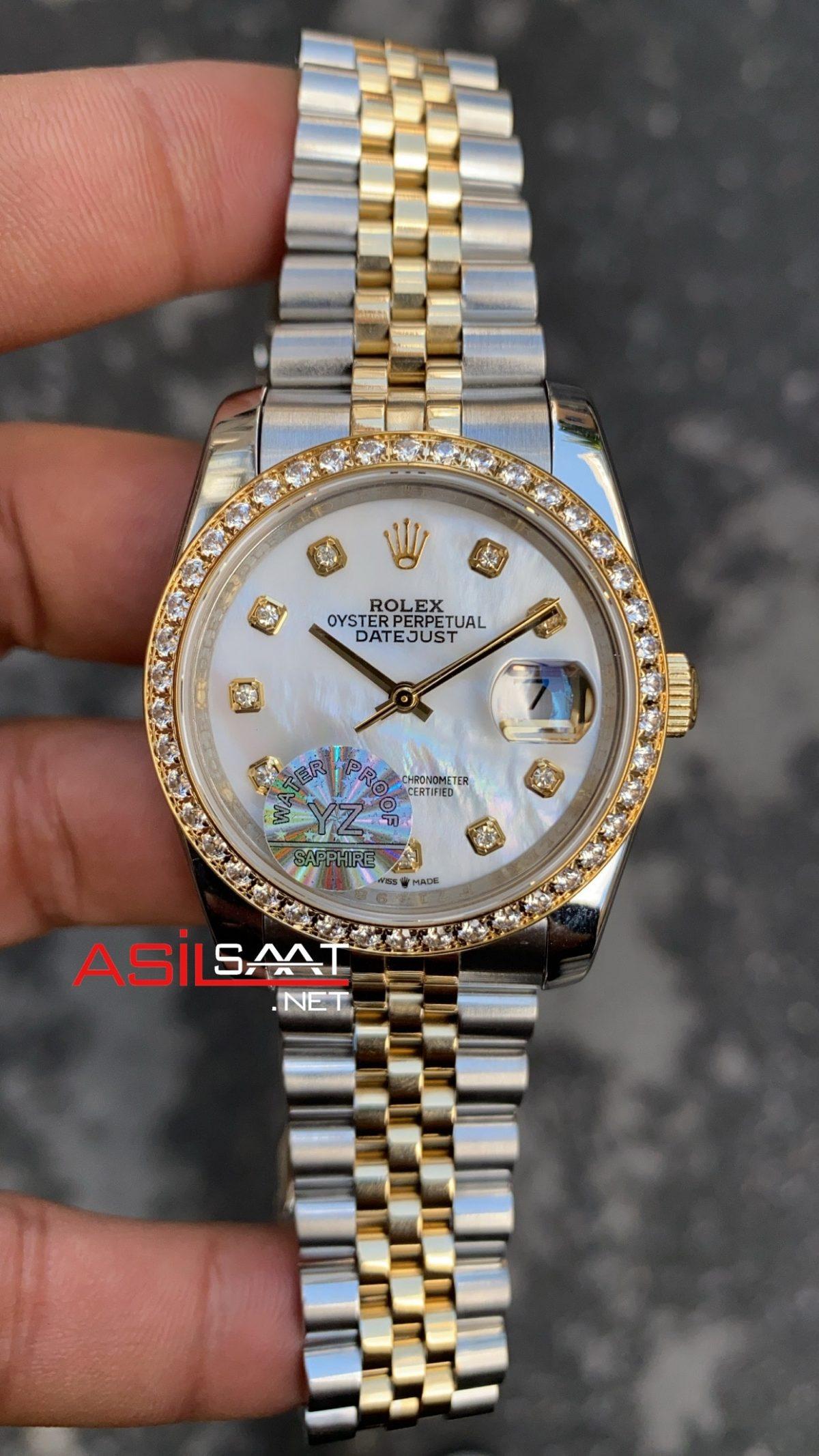Rolex Datejust Sedef Bayan 36 mm 126233 RBA072