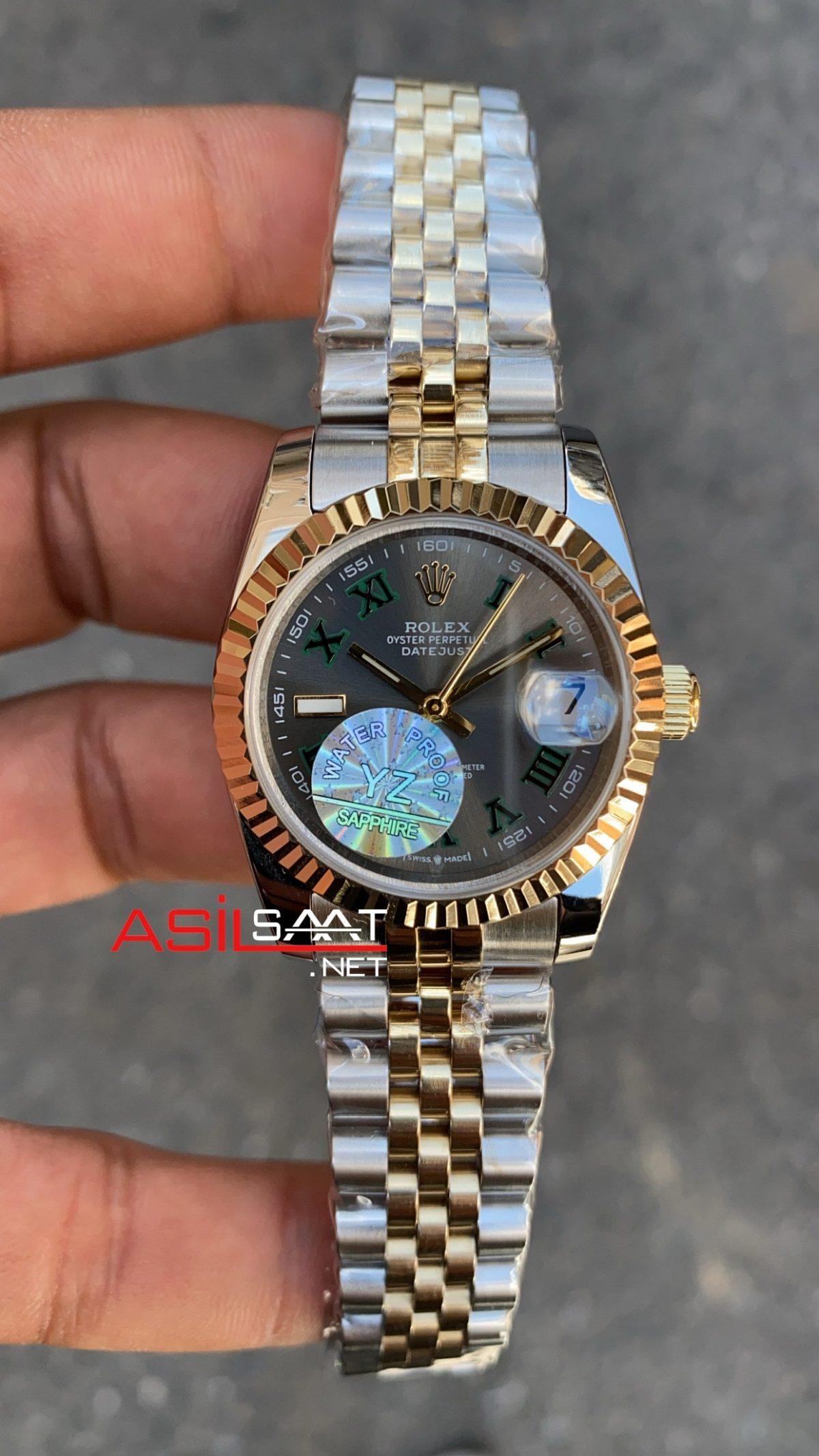 Rolex Datejust Wimbledon Bayan 31 mm 126333 RBA057