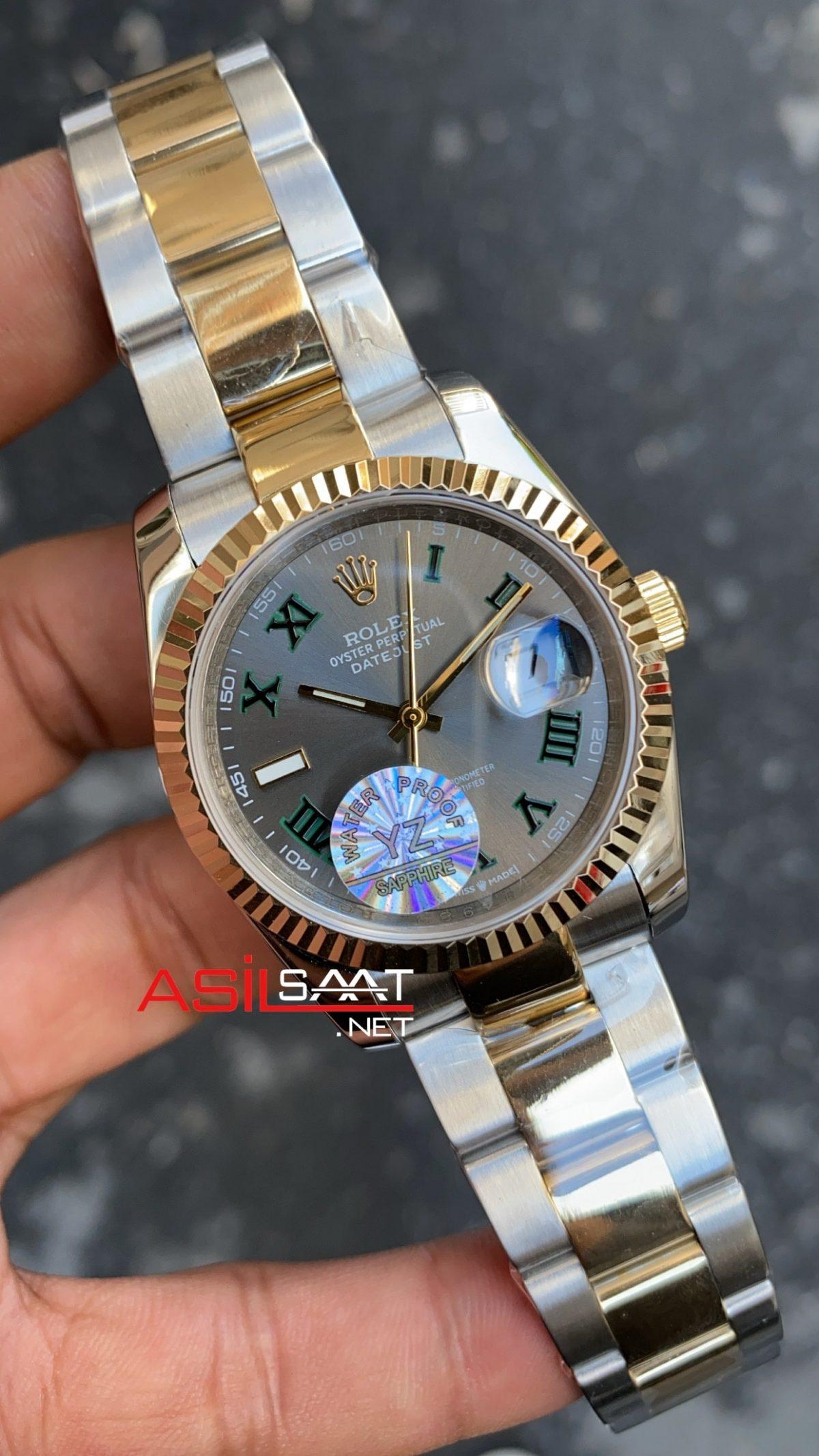 Rolex Datejust Wimbledon Oyster Bayan 36 mm 126333 RBA067