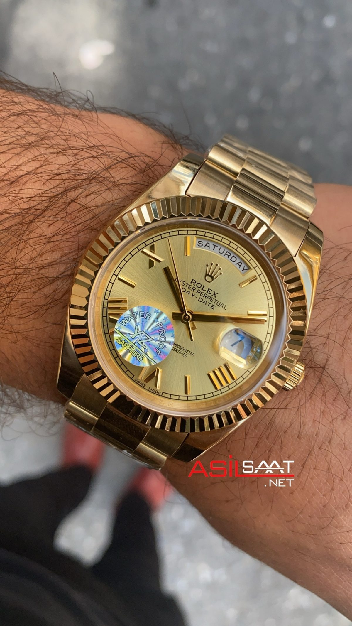 Rolex Day Date Champagne Dial 228238 ROLDD024