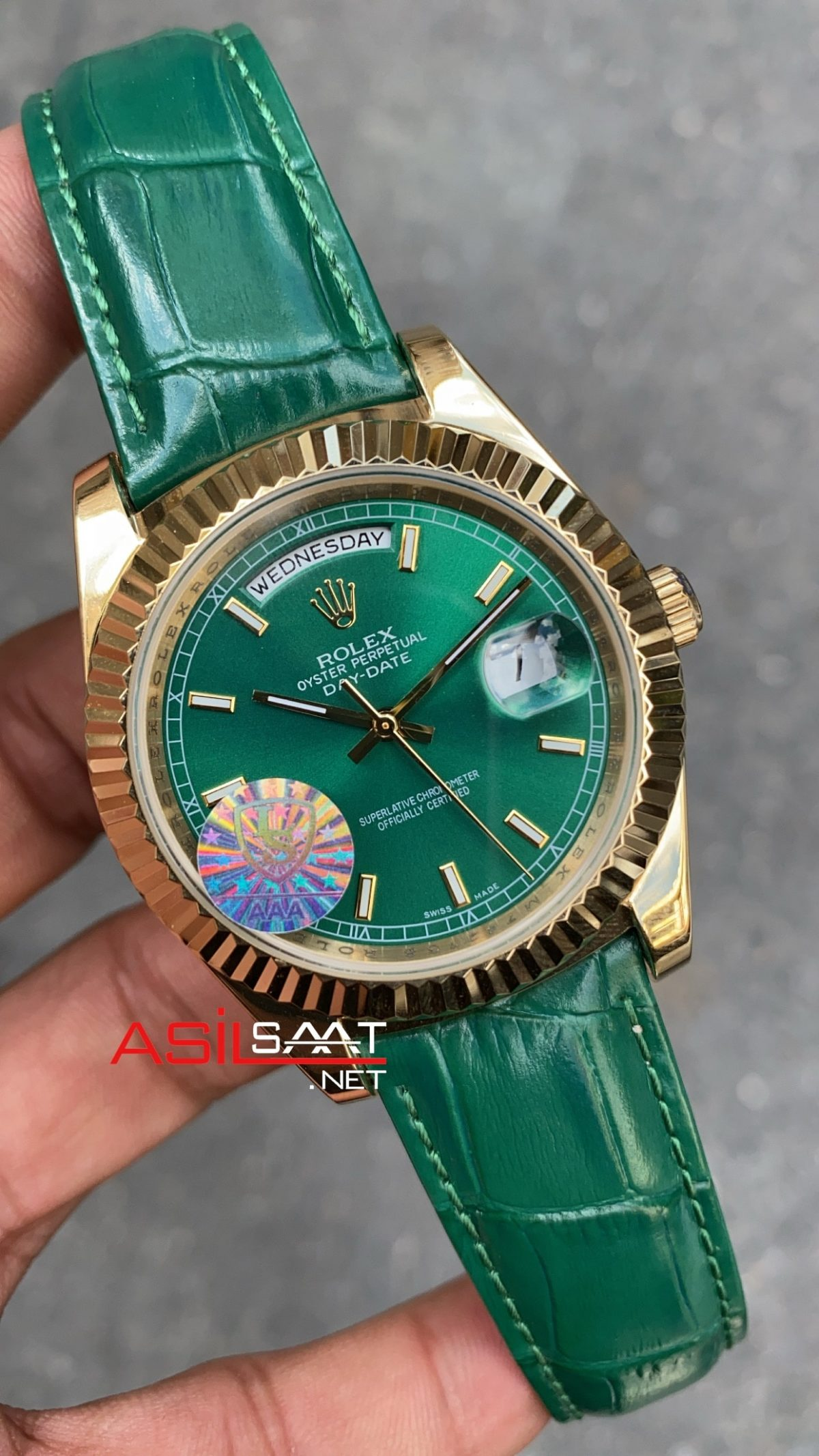Rolex Day Date Leather 118138 ROLDD063