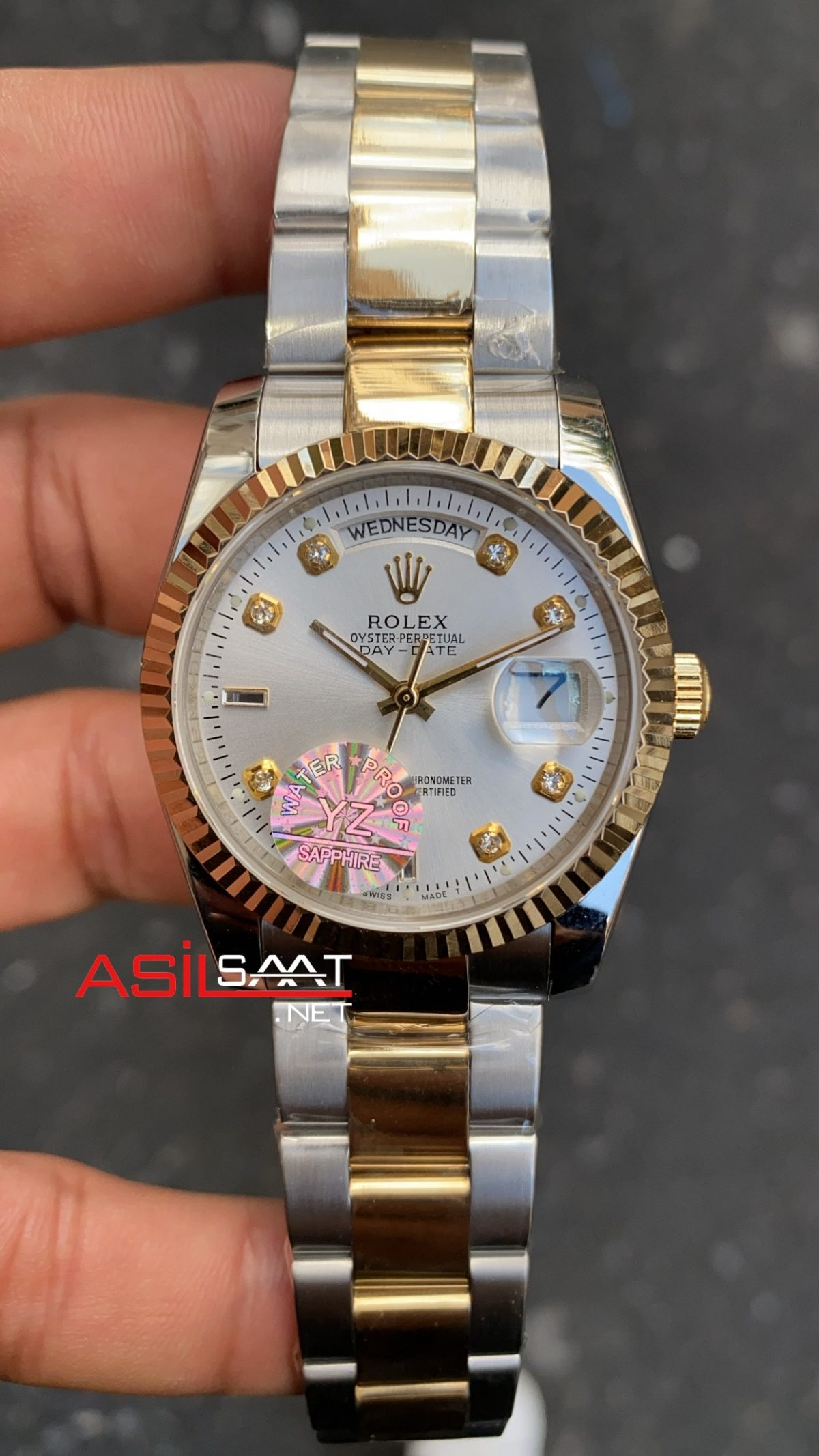 Rolex Day Date Two Tone Bayan 36 mm RBA011