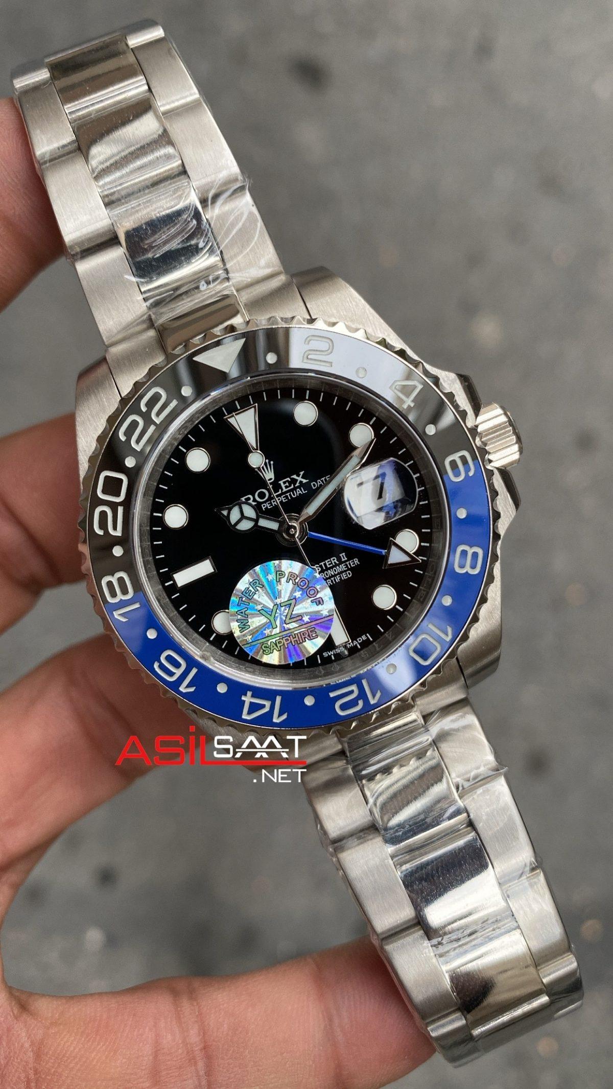 Rolex Gmt Master II Batman 126710 BLNR ROLG008