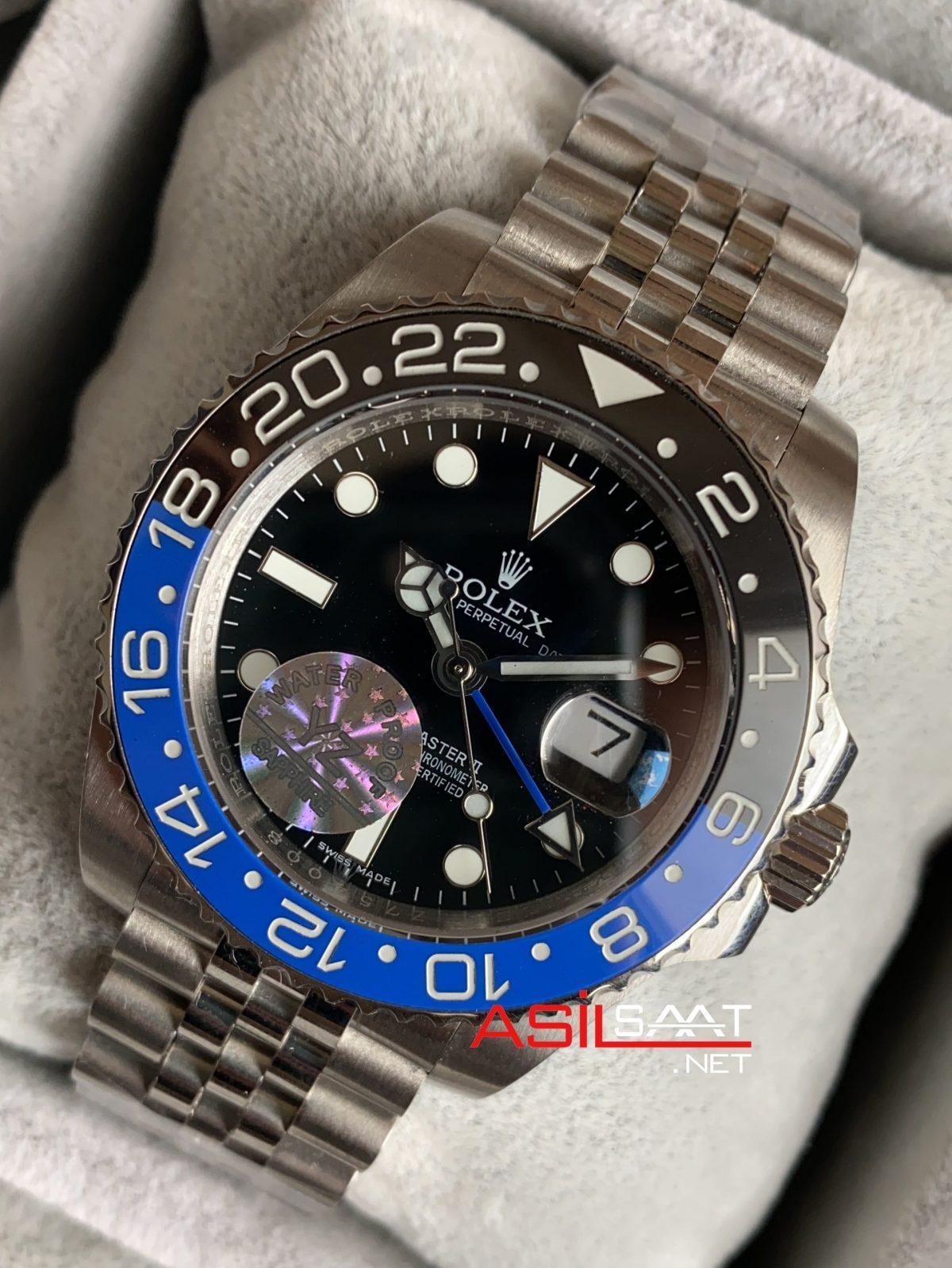 Rolex Jubilee Gmt Master 2 Batman 126710 ROLG007
