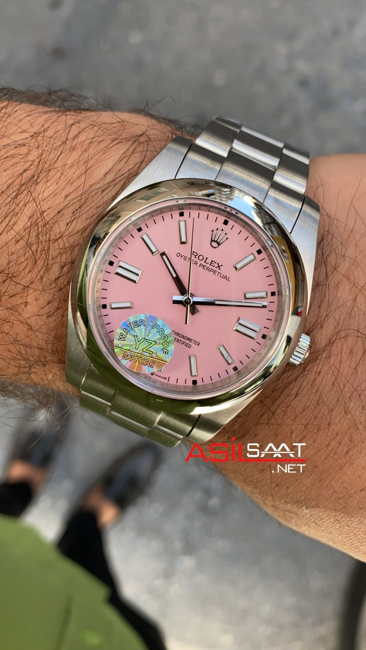 Rolex Oyster Perpetual Pembe 124300 ROLP002