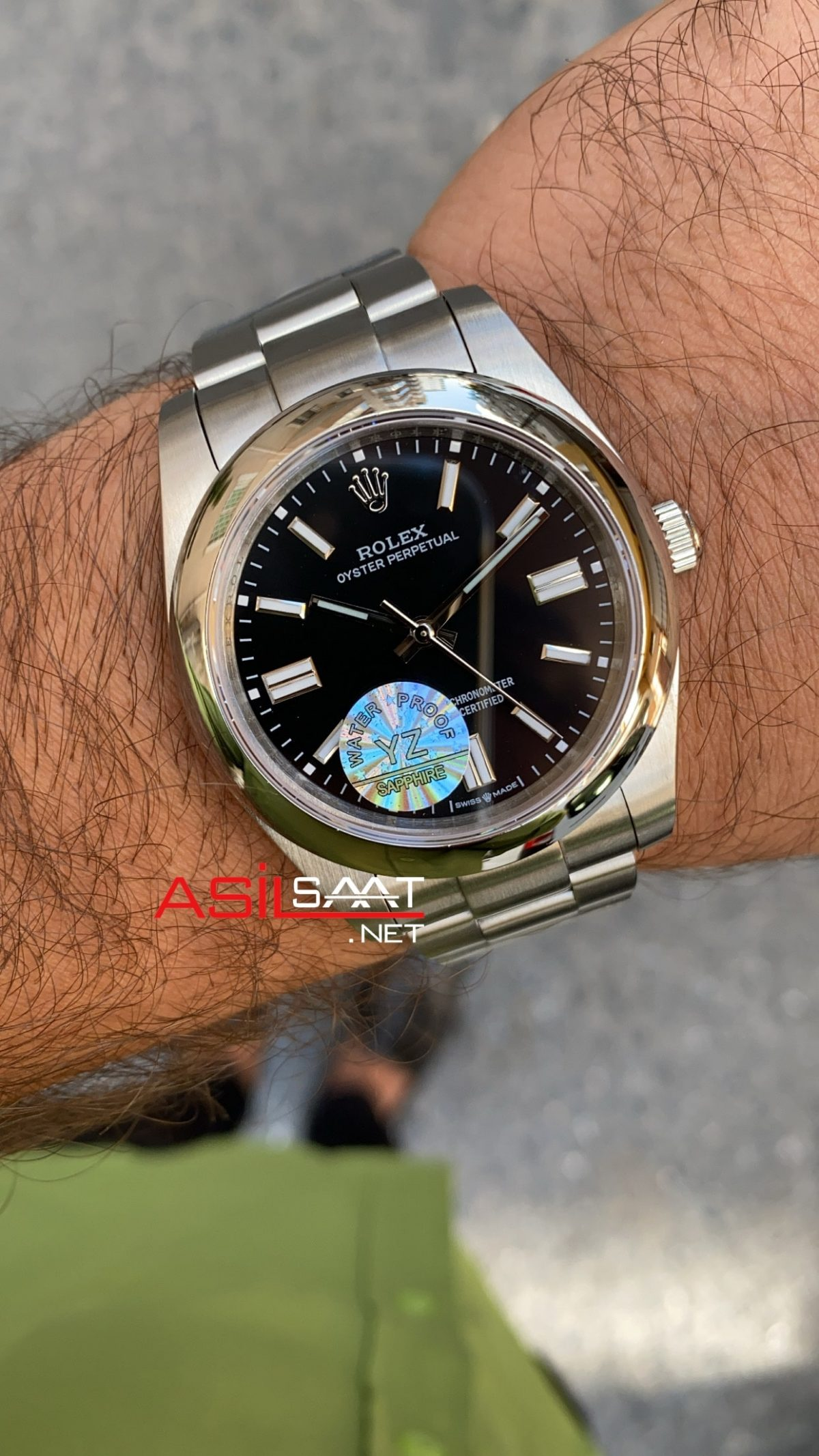 Rolex Oyster Perpetual Siyah 124300 ROLP001