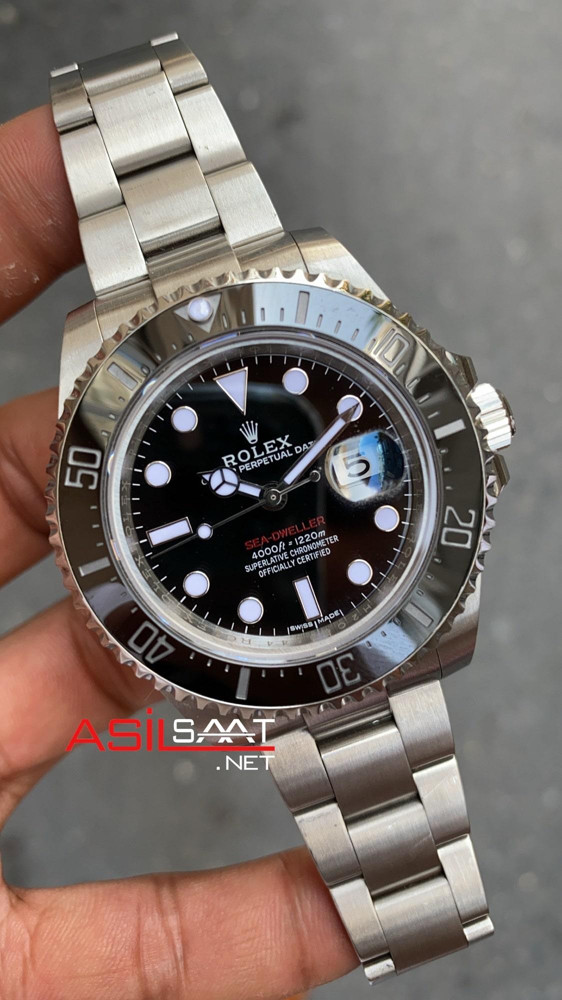 Rolex Sea Dweller Acciaio 43 mm 3235 Super Clone ETA 126600 RETA001